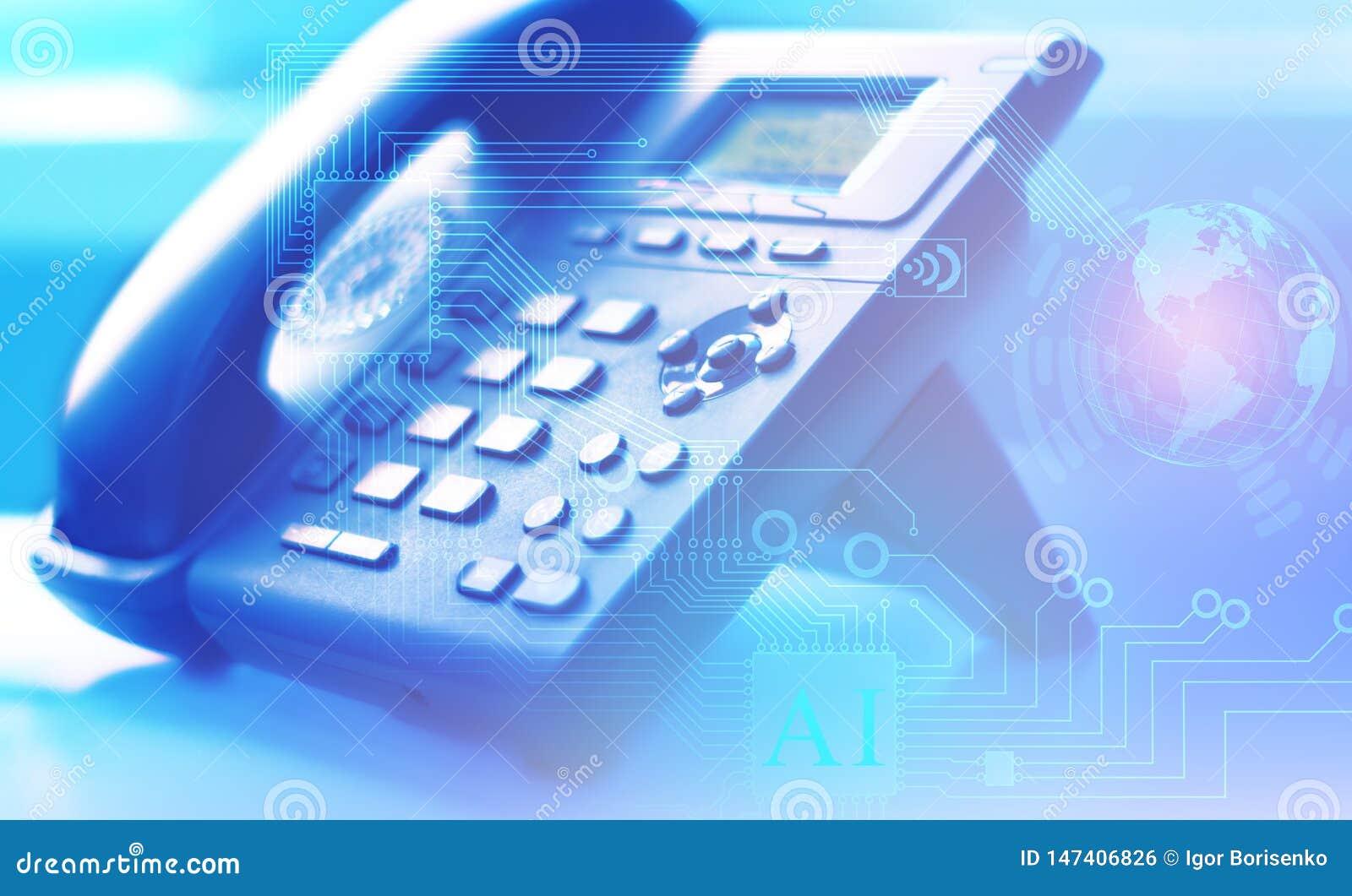 Una rete globale di telefonia e del servizio clienti di Internet universalmente con l aiuto di un centro del contatto e delle chi