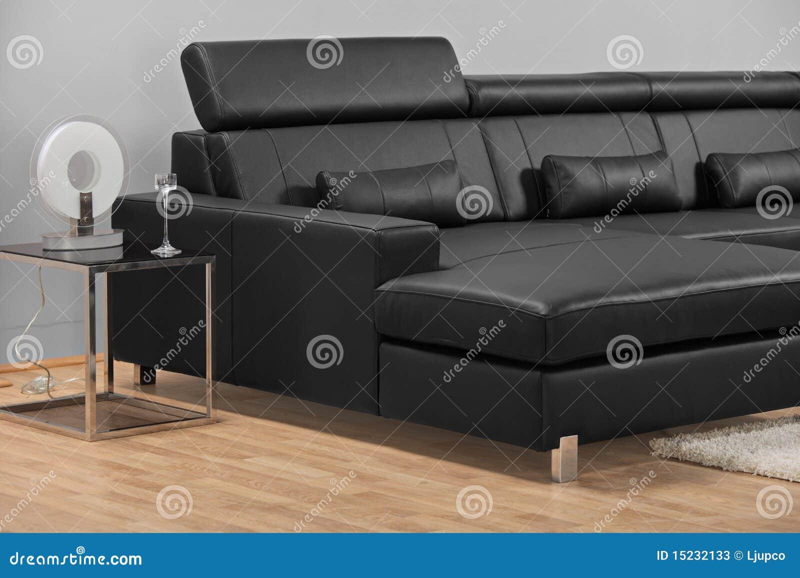 Una sala de estar minimalista moderna con muebles imagen for Muebles para sala de estar modernas