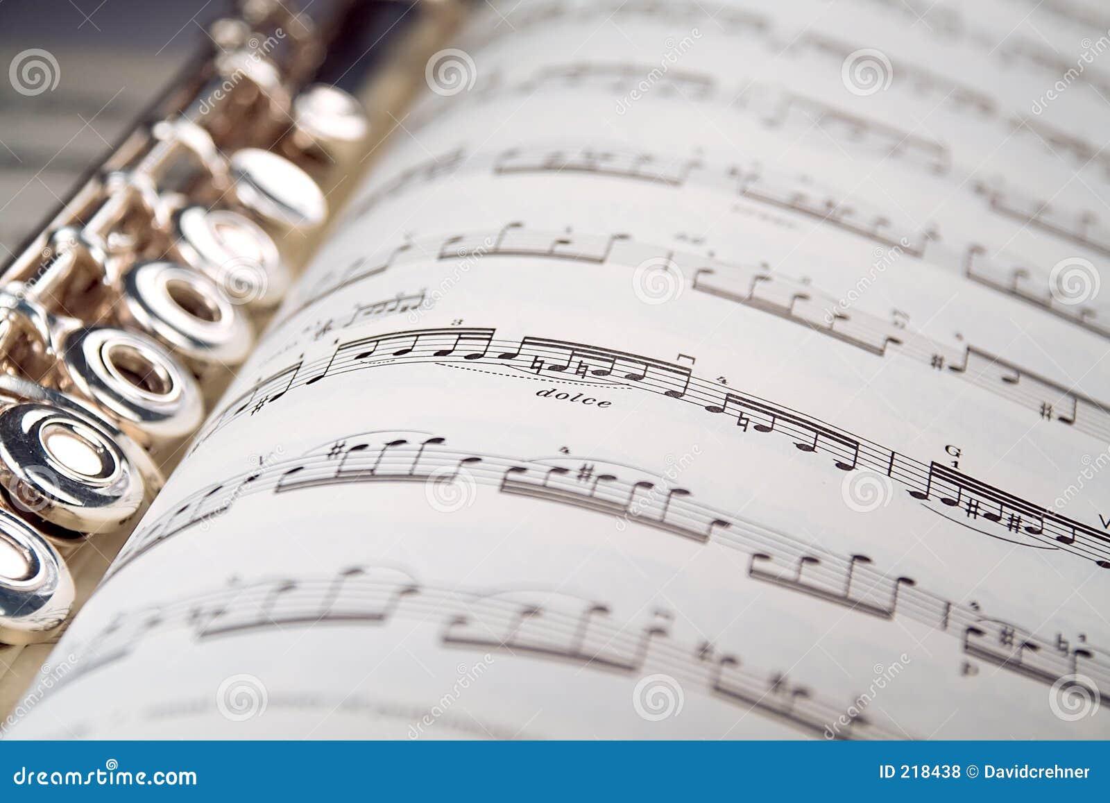 Una scanalatura riposa all interno di un segno musicale