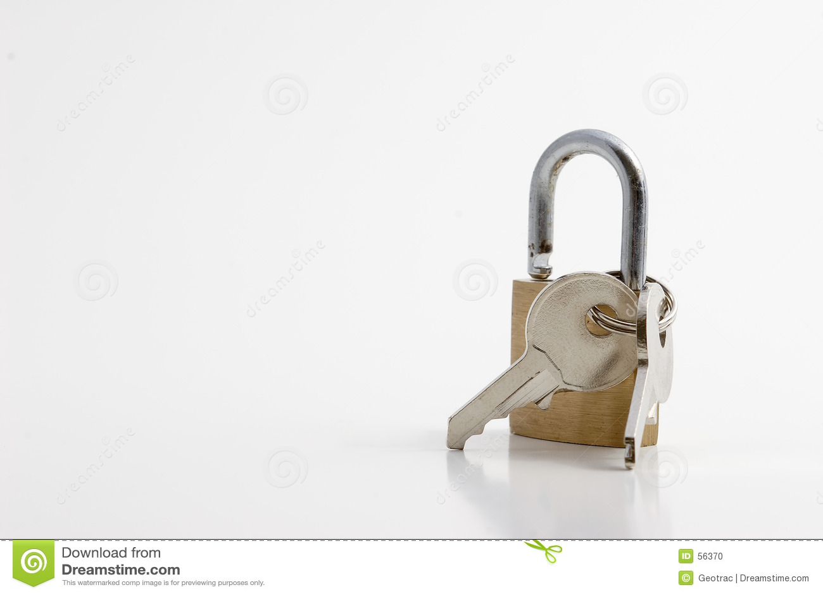 Una serratura con i tasti