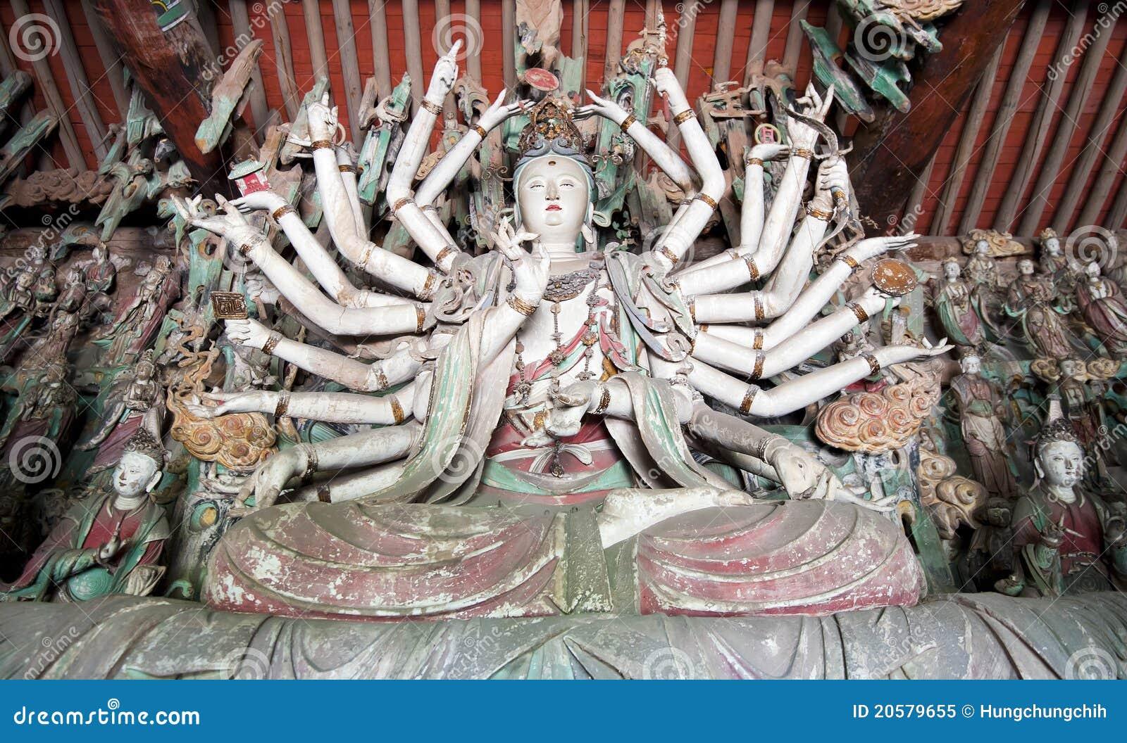 una-statua-di-mille-braccia-guanyin-budd
