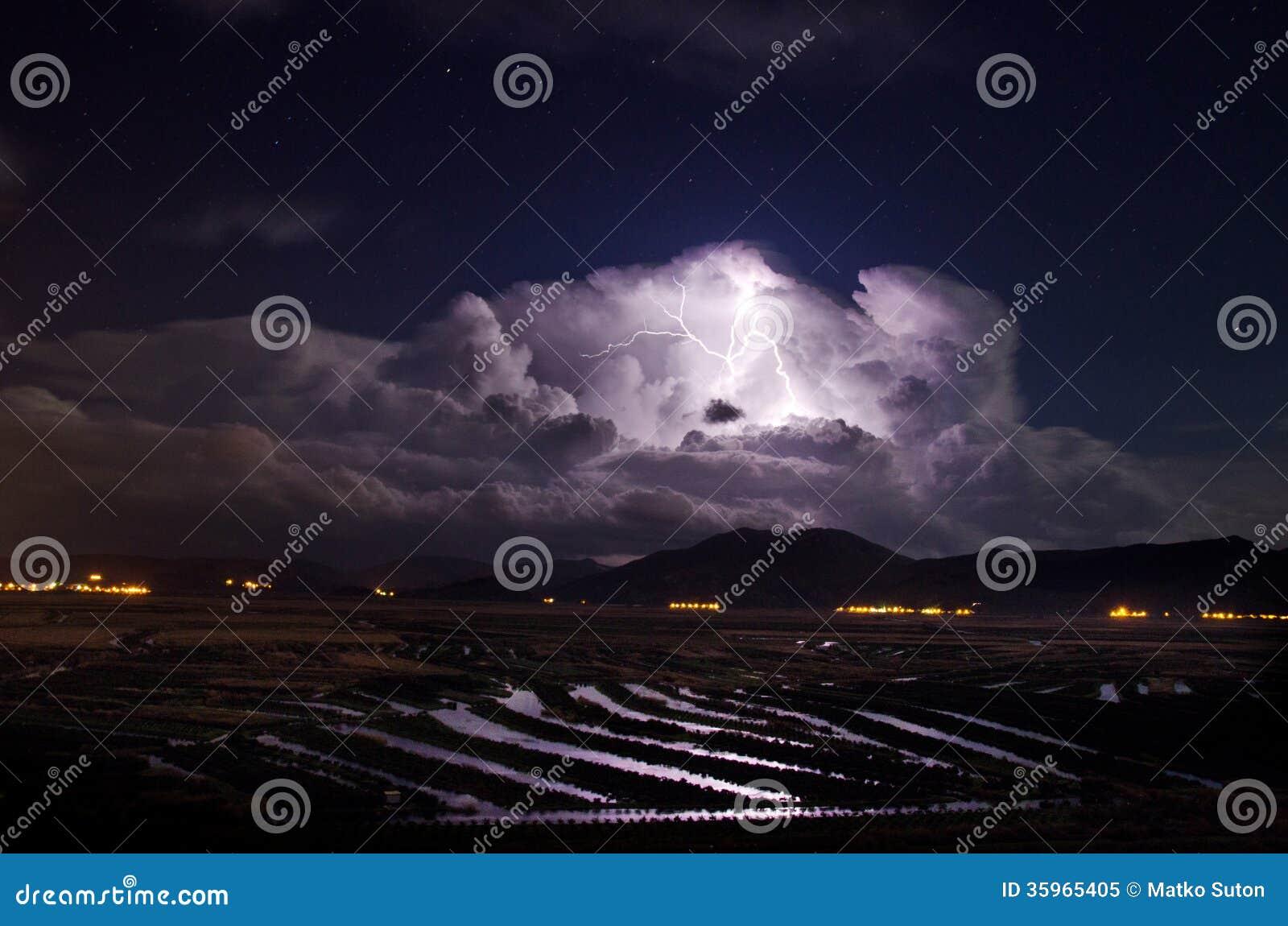 Una tormenta está viniendo