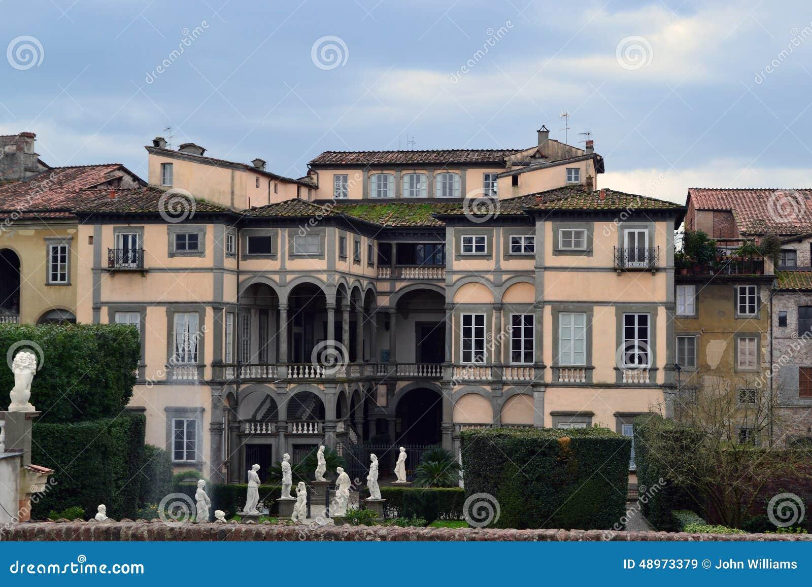 una villa italiana di stile immagine stock immagine di