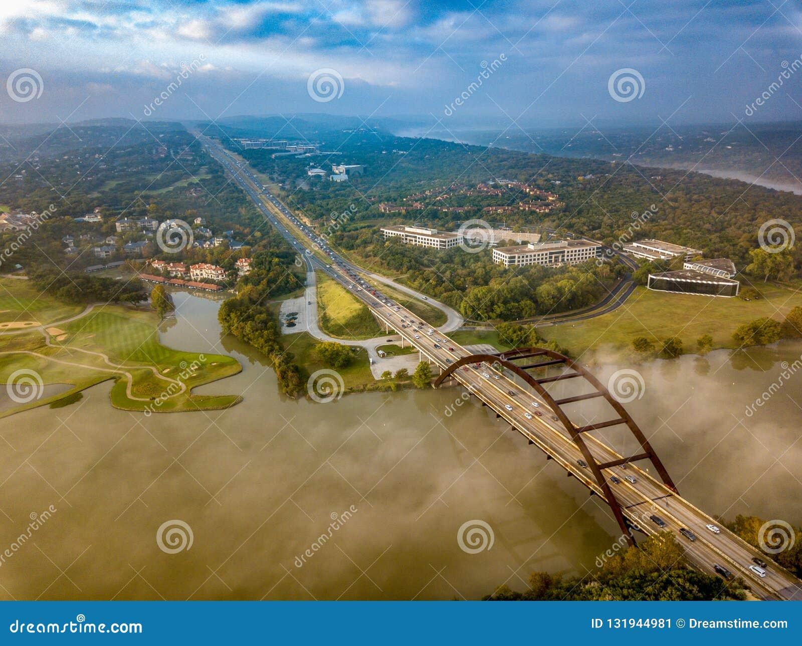 Una vista aerea