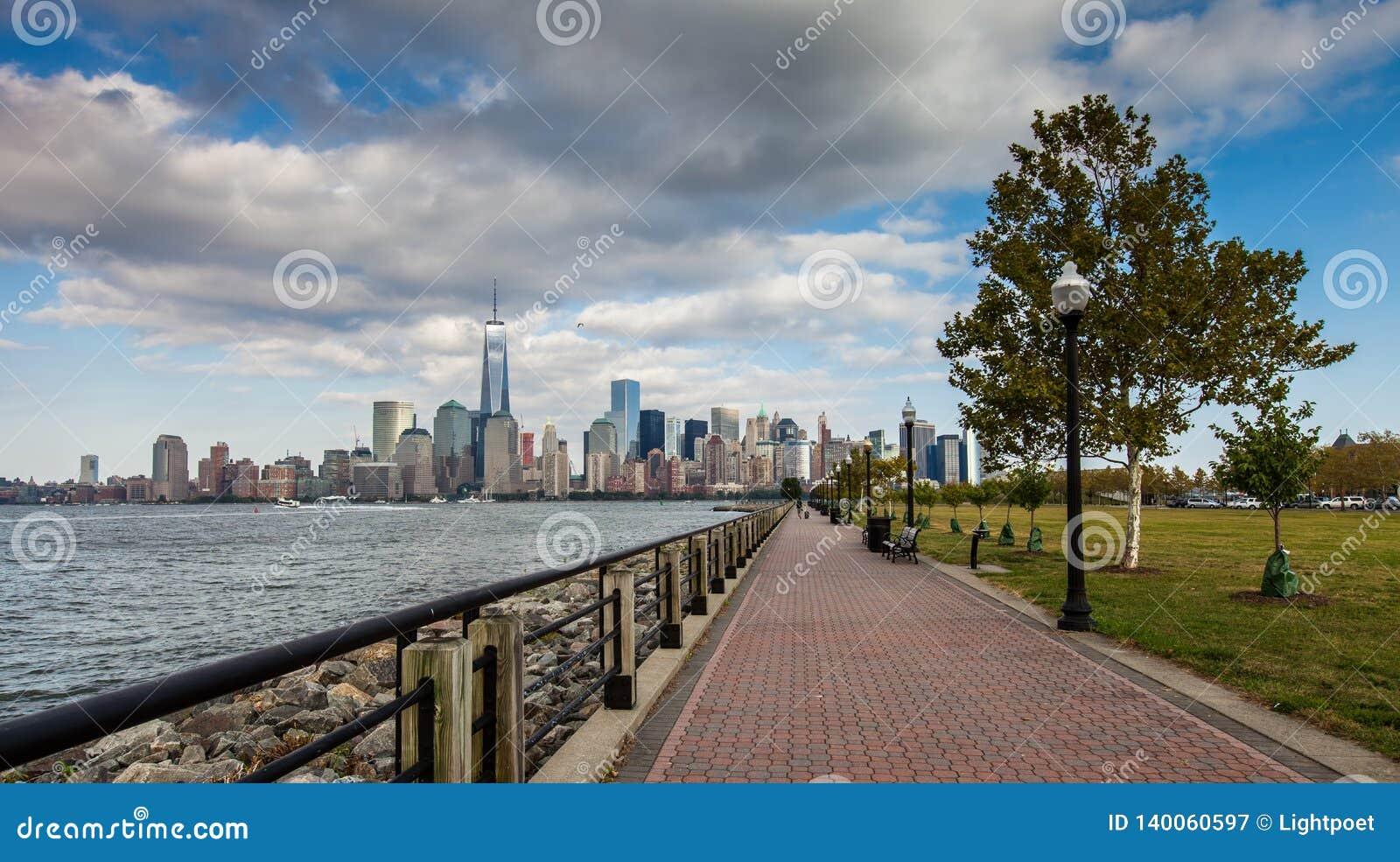 Una vista del Lower Manhattan