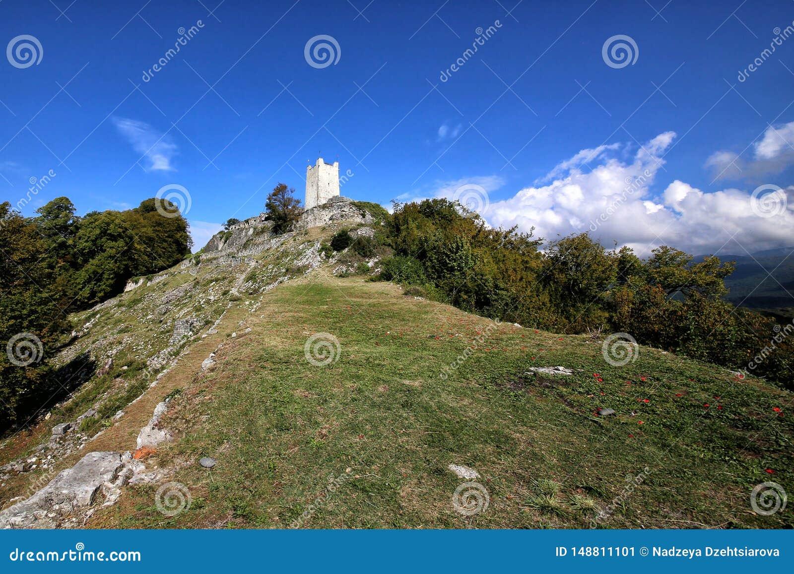 Una vista della collina di Iver nel nuovo Athos