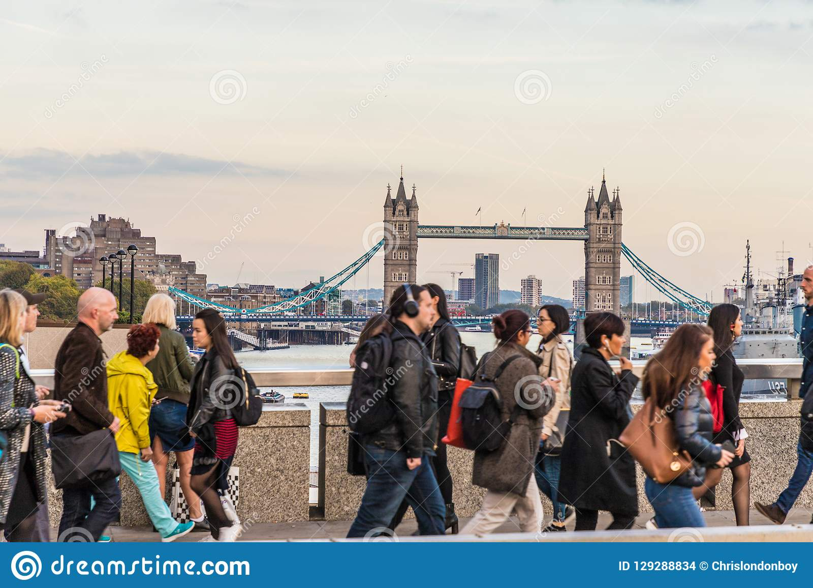Una vista tipica a Londra