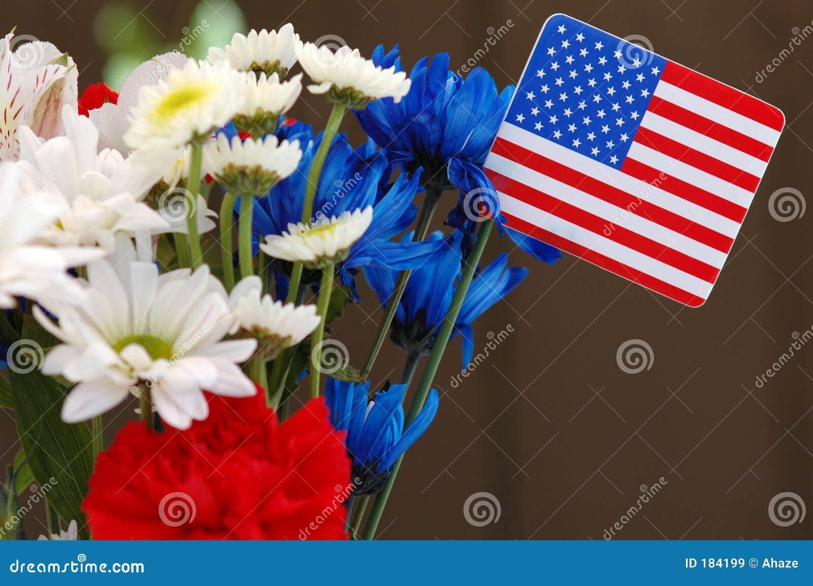 Unabhängigkeit-Blumenstrauß