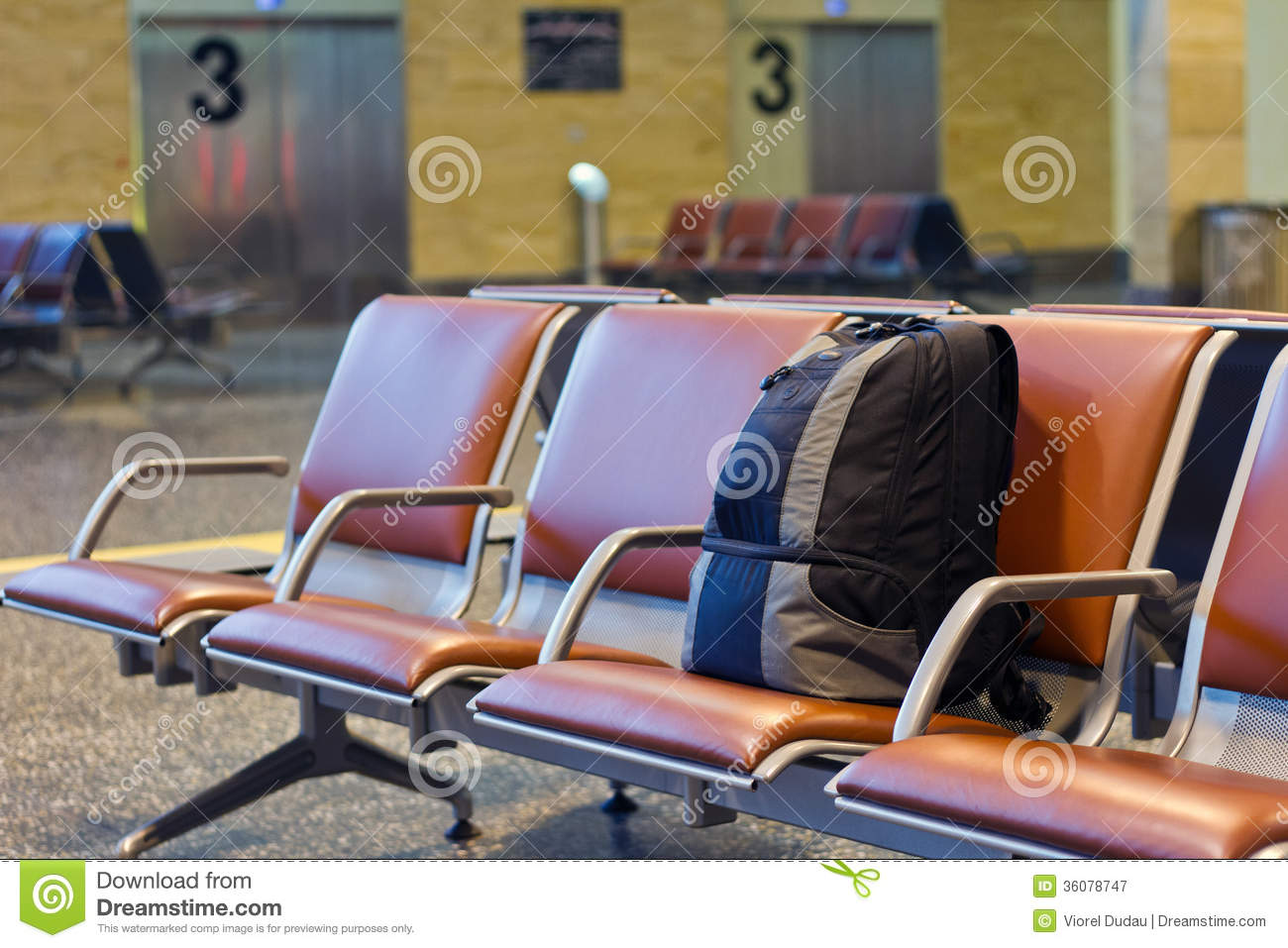 Unattended Bag Royalty Free Stock Photography Image