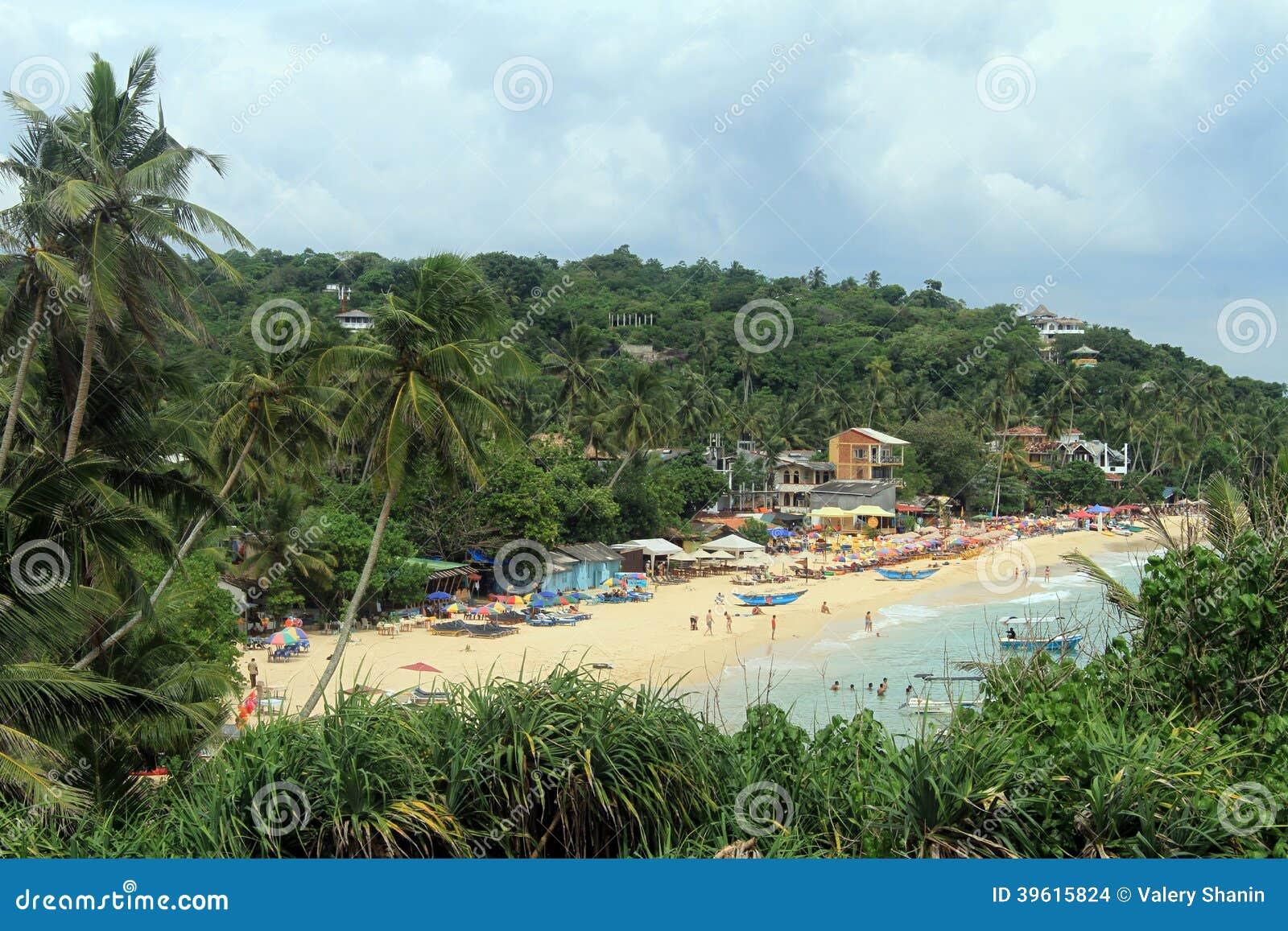 Unawatuna plaża