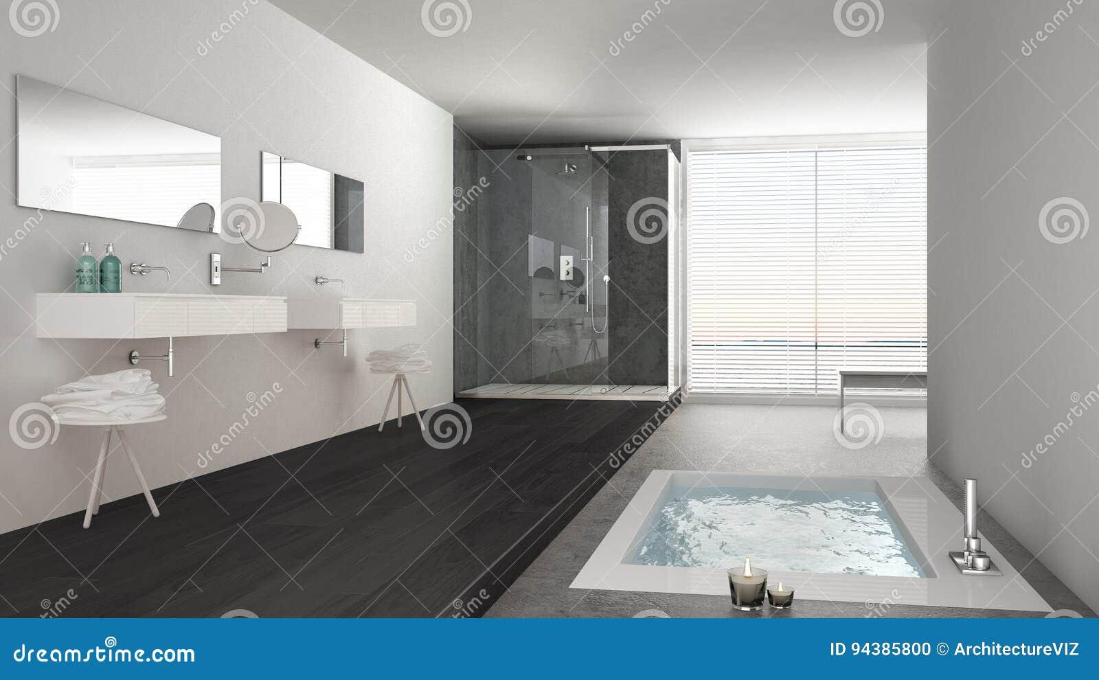 Beeindruckend Graues Badezimmer Referenz Von Pattern Unbedeutendes Weißes Und Mit Badewanne Und