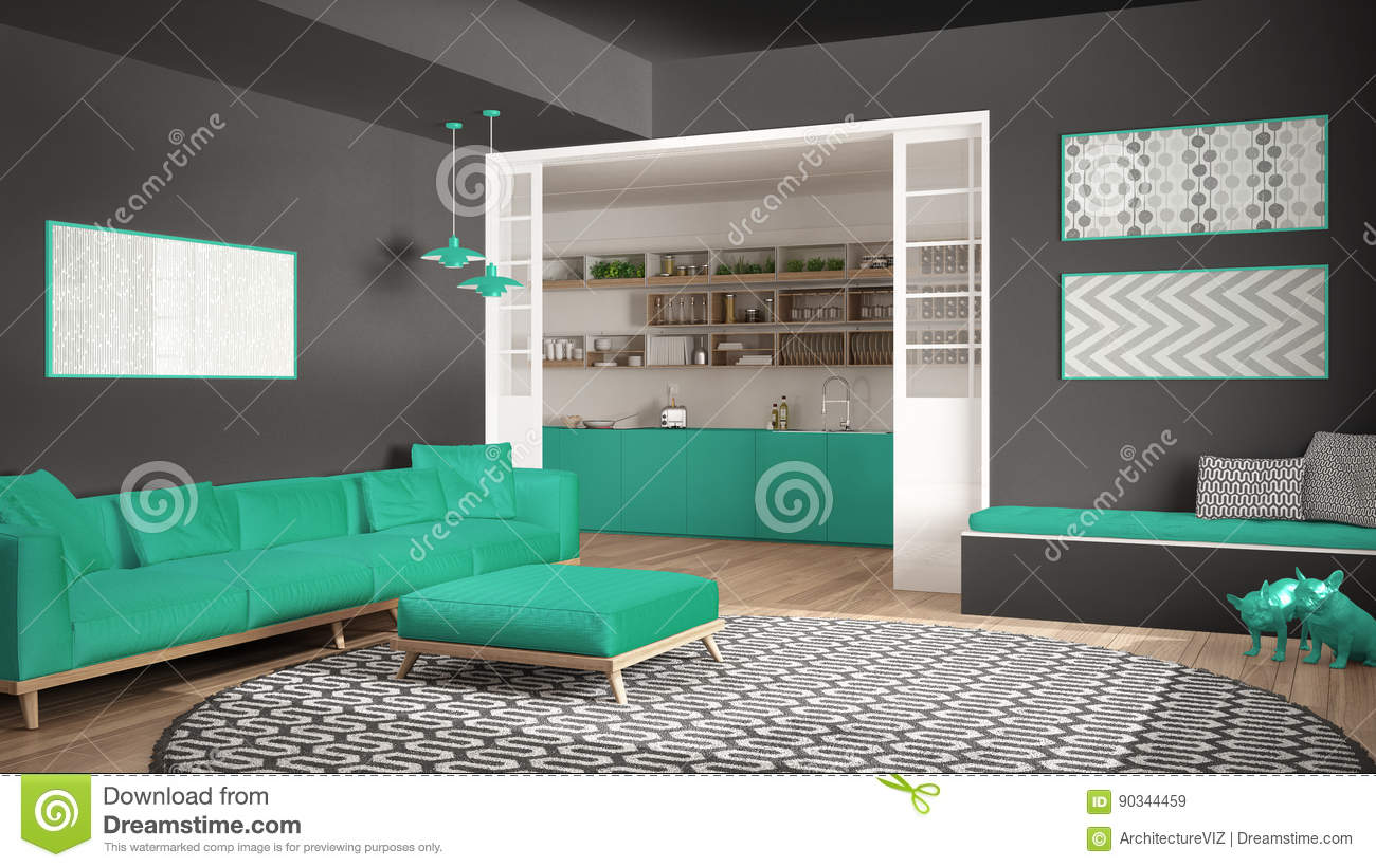 bett und sofa einem orwell projekt goula figuera bett und. Black Bedroom Furniture Sets. Home Design Ideas