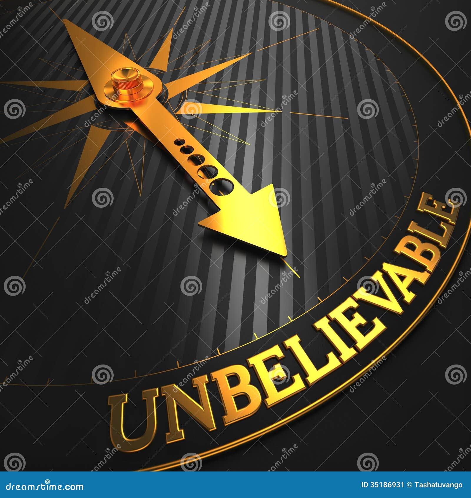 Unbelievable Business Concept Stock Image Image 35186931