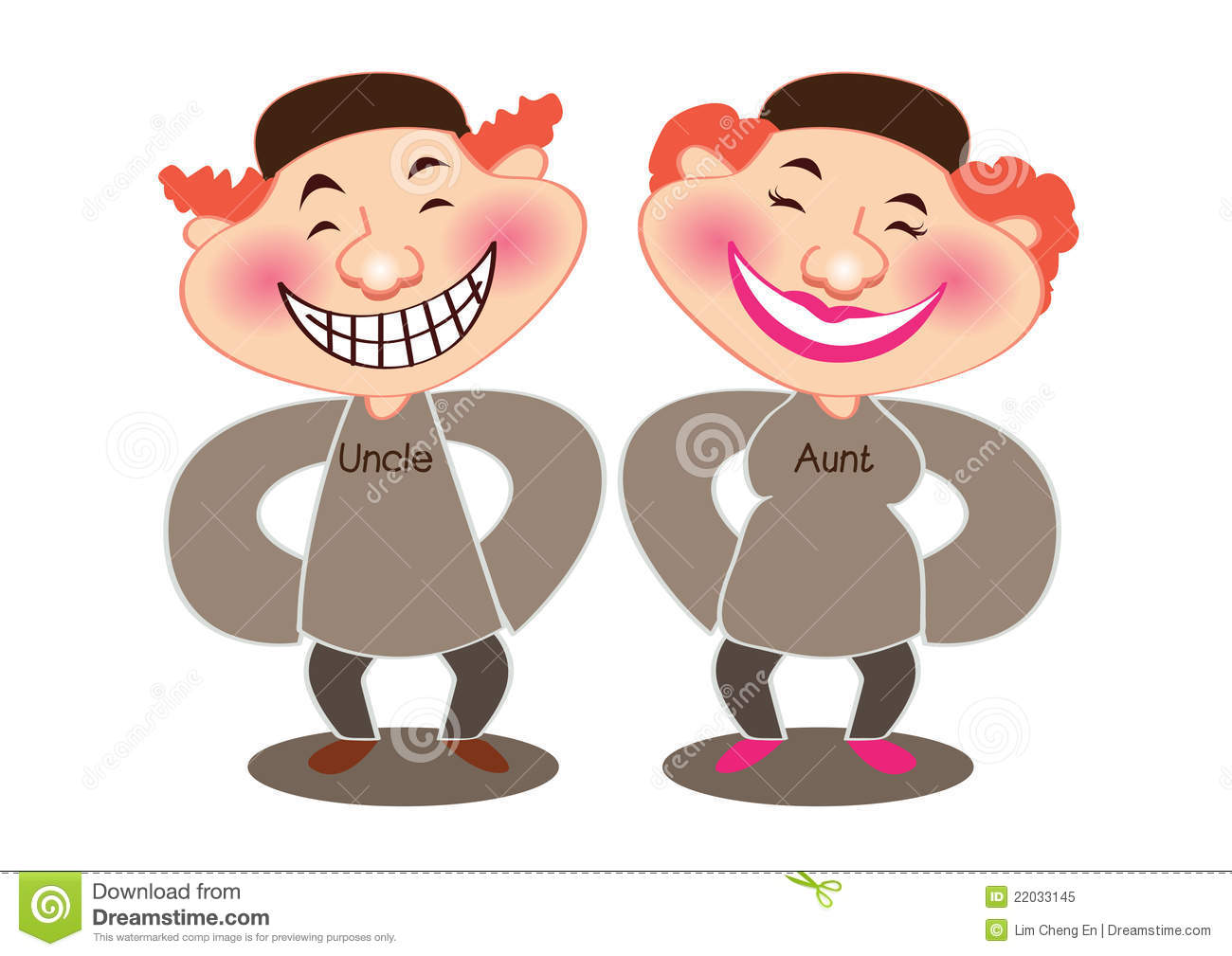 Aunt and Uncle Clip Art – Cliparts