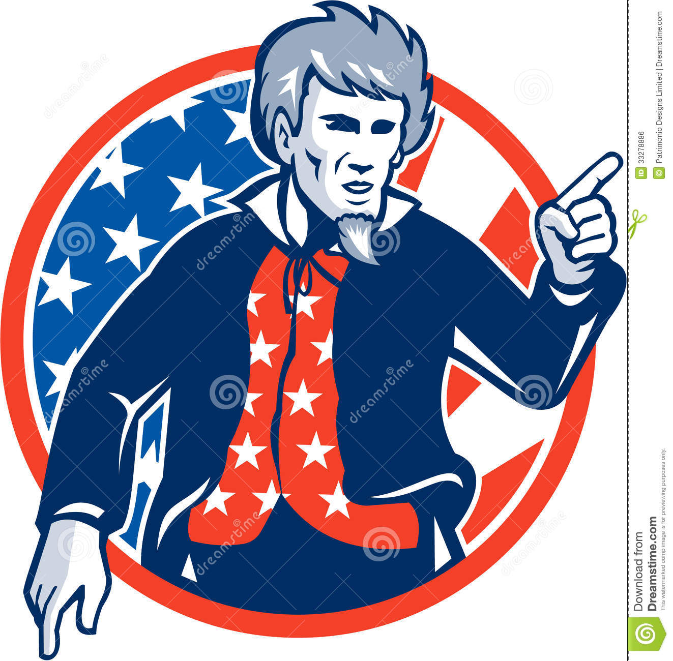 Uncle Sam Hand Pointing At You