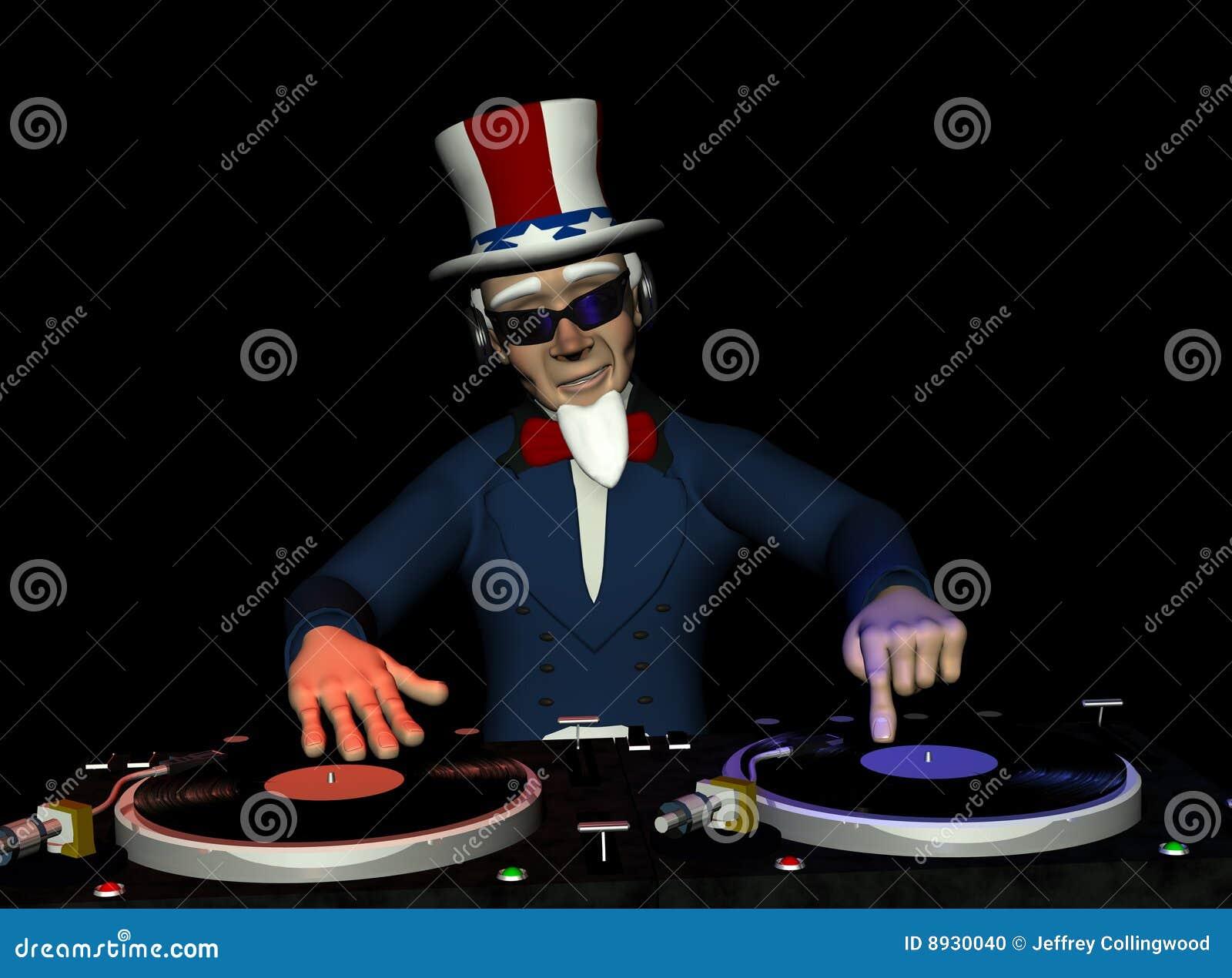 Uncle Sam Wants You Clip Art Uncle Sam DJ