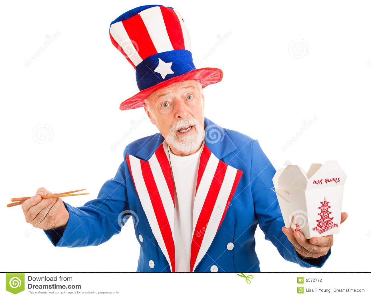 Uncle Sam Wants You Clip Art Uncle Sam Eats Chinese