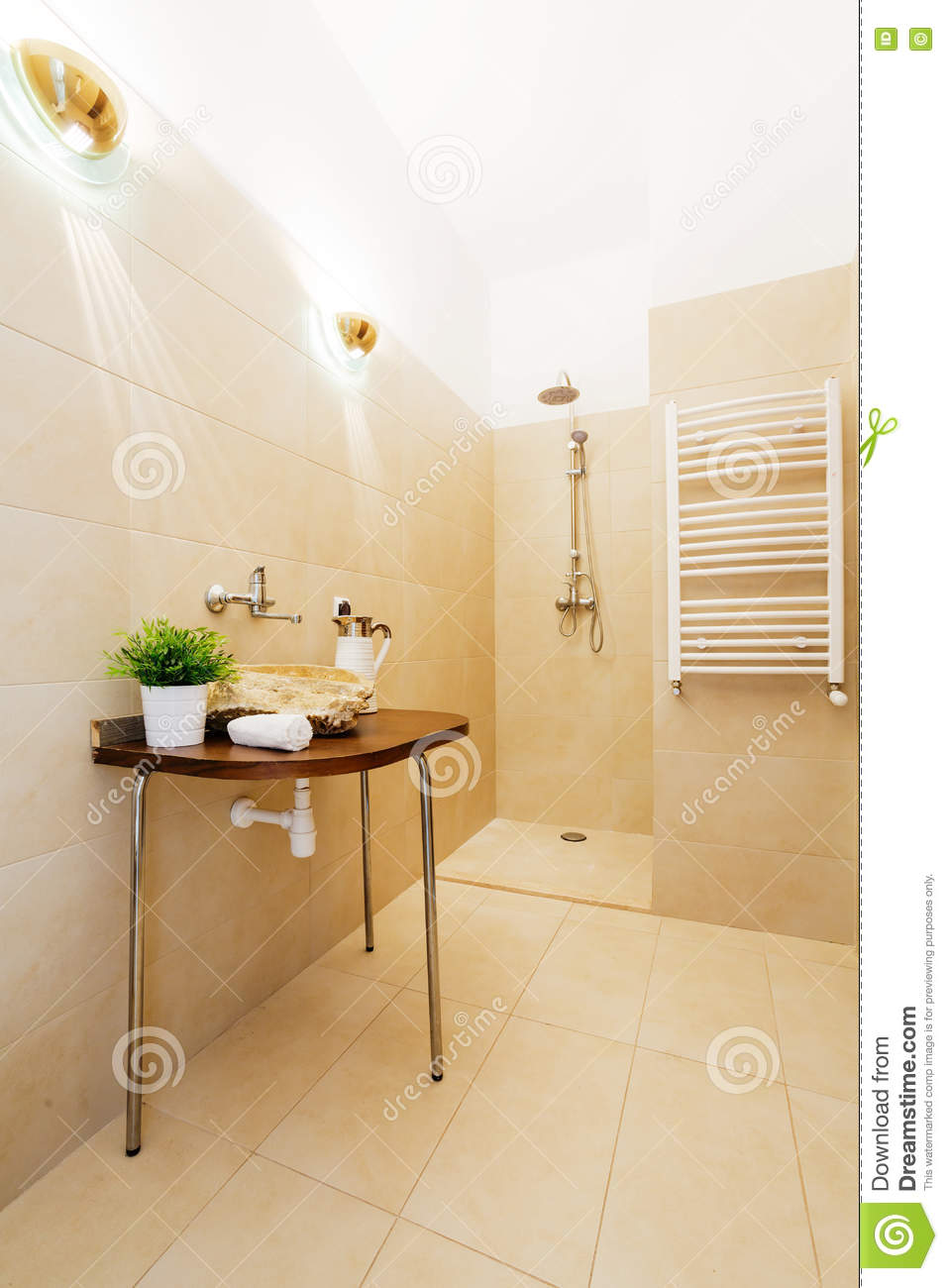 Download Uncommon Bathroom Solutions Adding Significance To The Interior  Stock Photo   Image Of Luxurious,