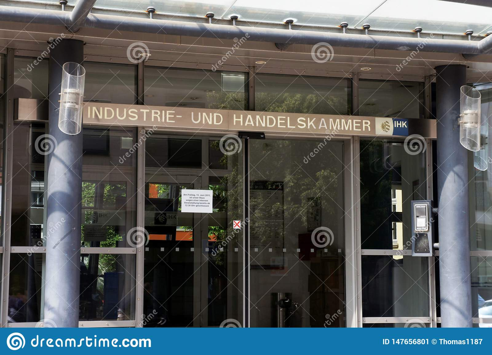 Und Handelskammer de Industrie en Nuremberg