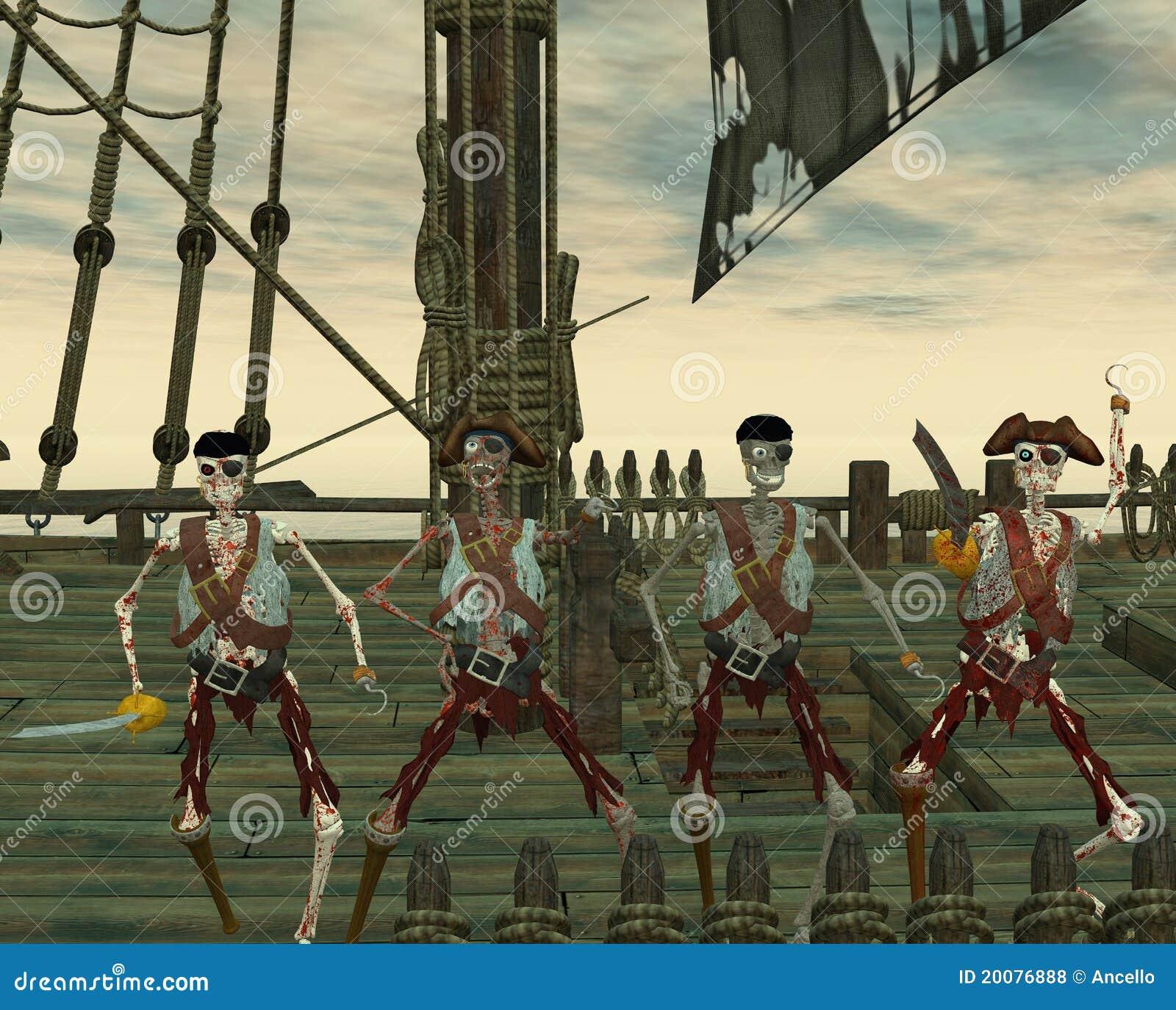 Undead pirates
