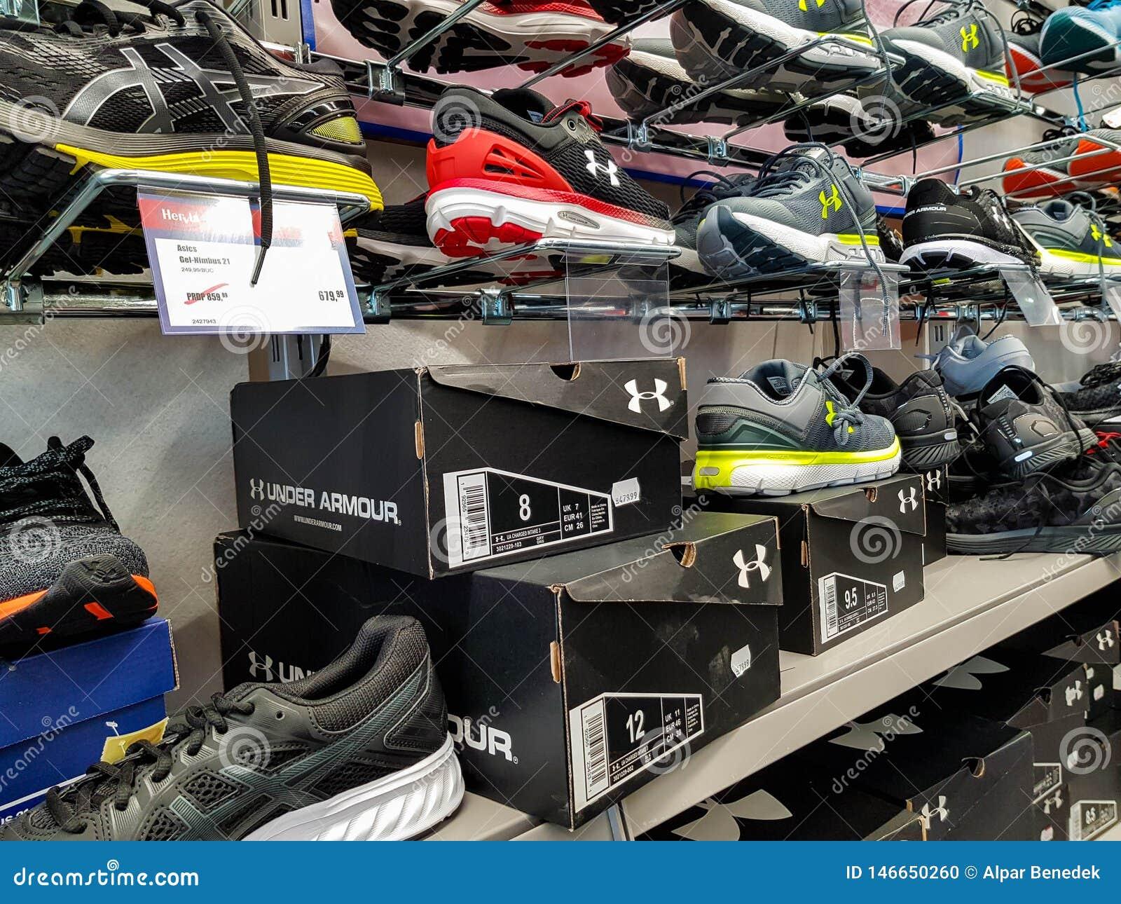 under armour shoe retailers