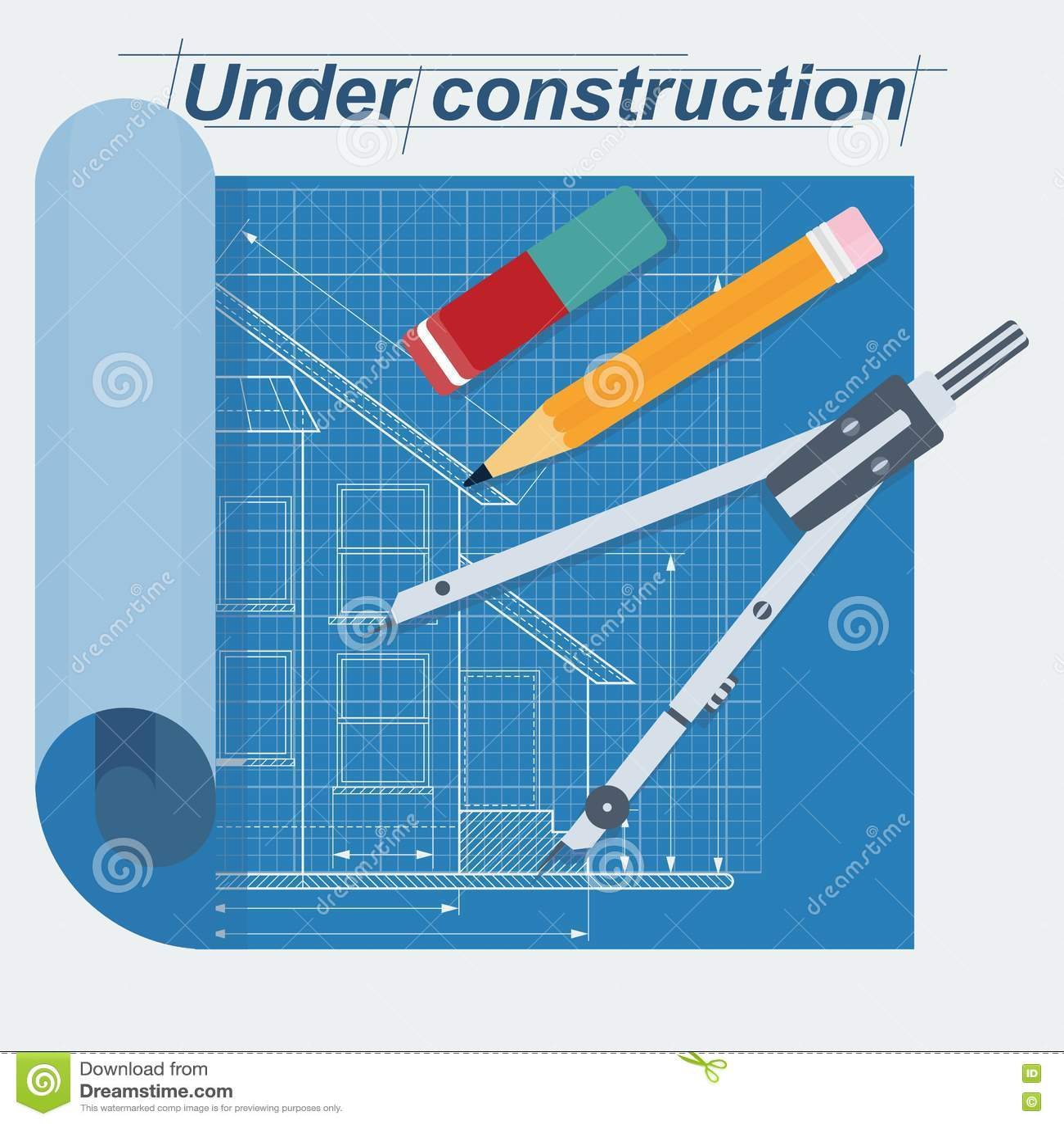Under byggnadsritning