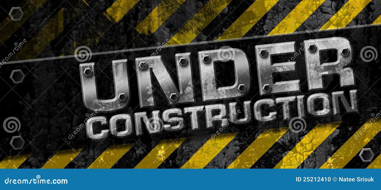 Under Construction Stock Illustration Illustration Of