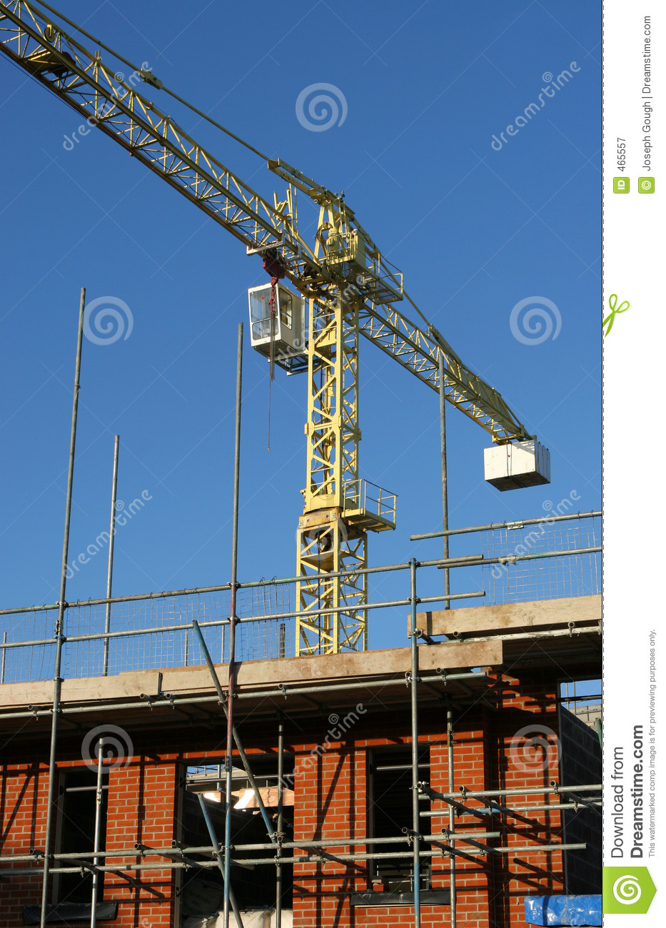 Download Under Construction stock image. Image of scaffolding, lifting - 465557
