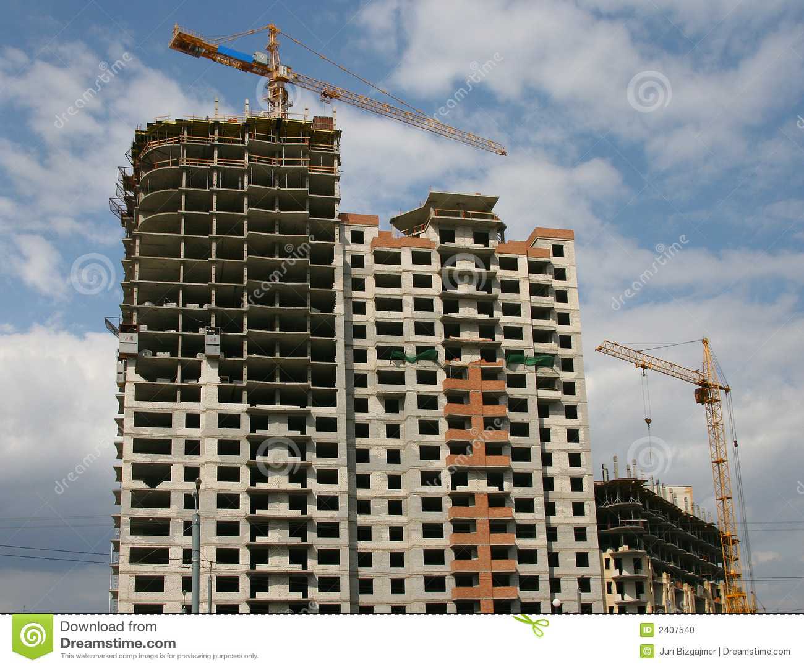 Under construction buildings stock photo image 2407540 for Building under construction insurance