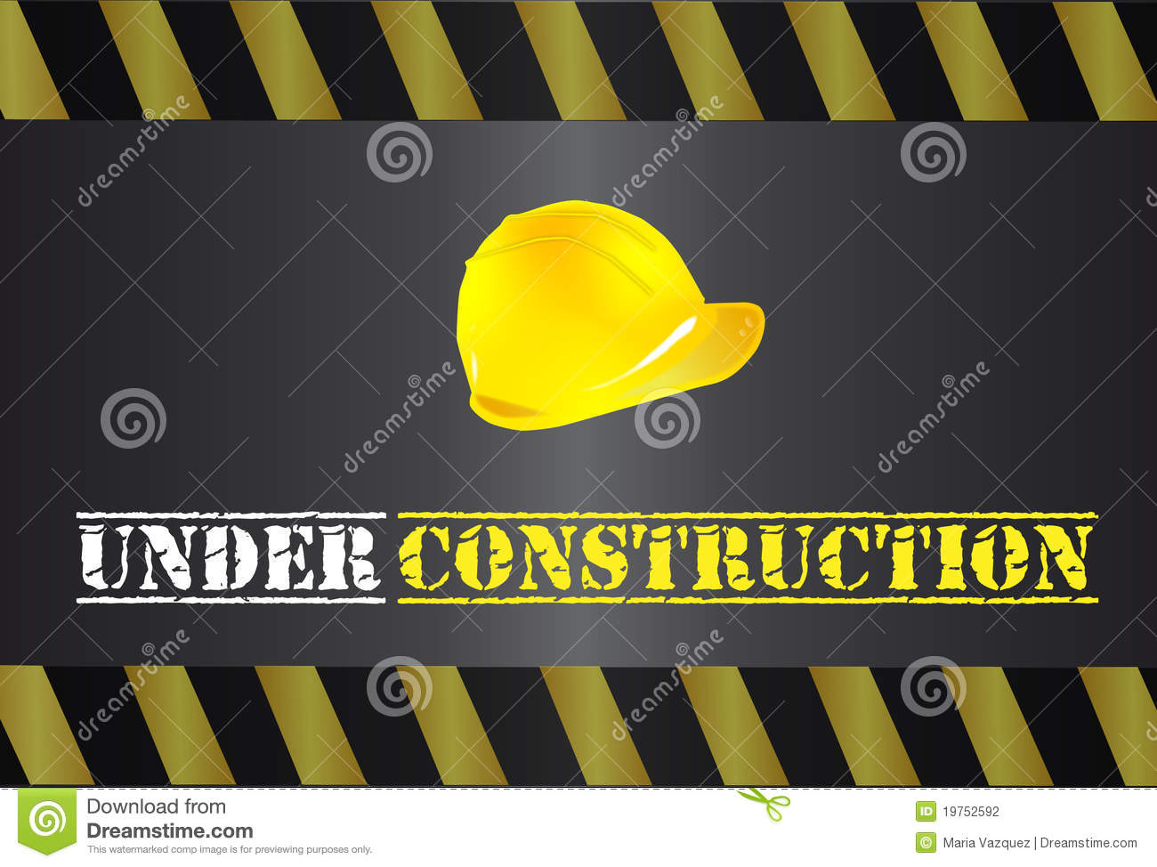Under Construction Logo Stock Photography - Image: 19752592 Under Construction Logo