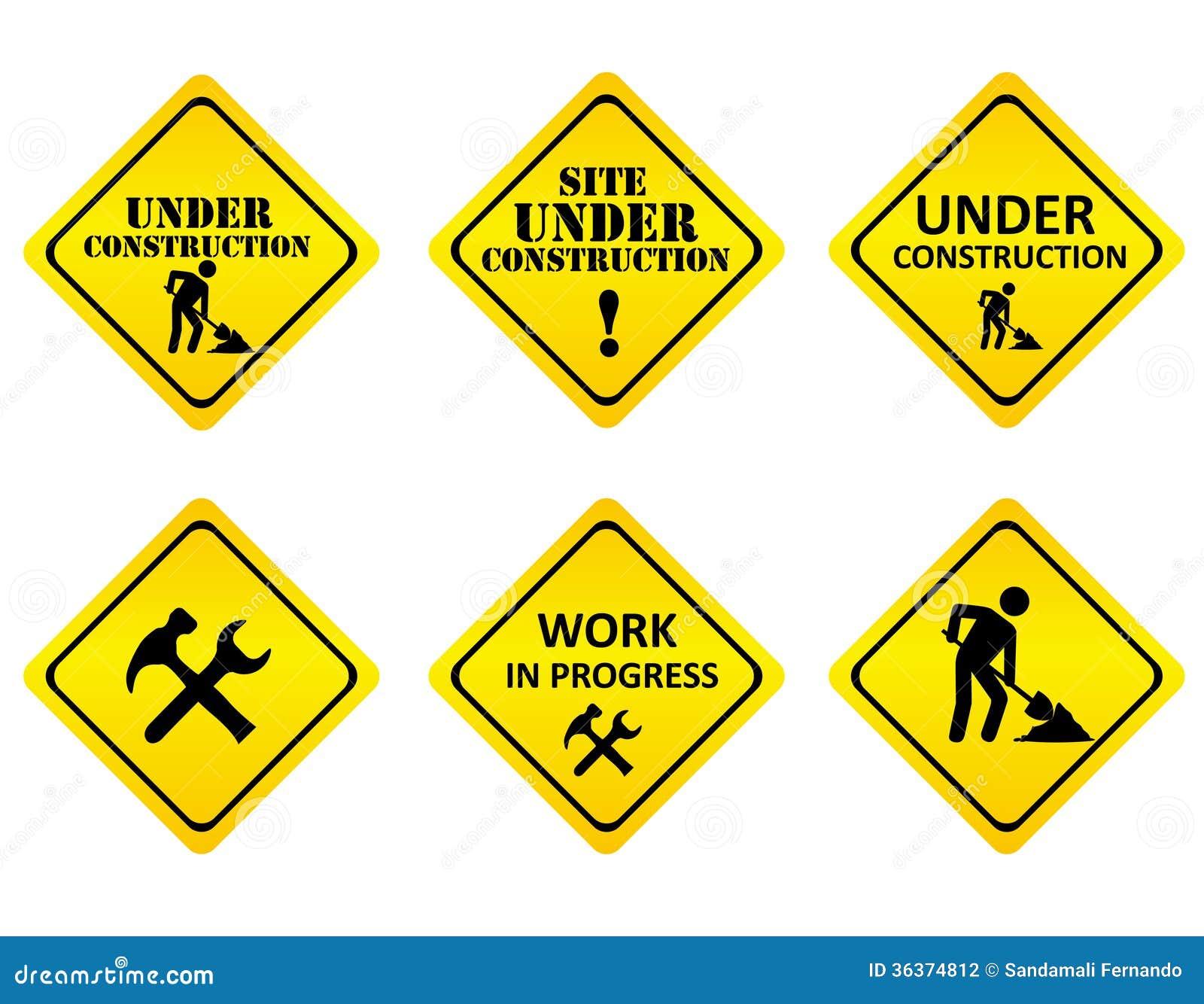 Construction Sign Clipart Construction Sign clipart