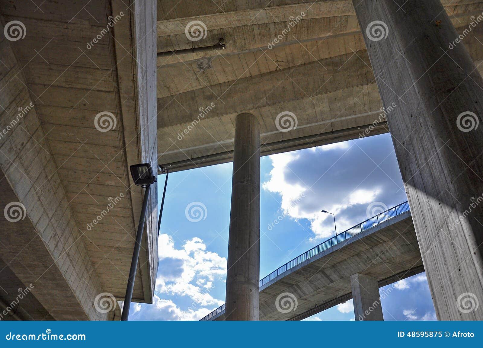 Under den konkreta bron