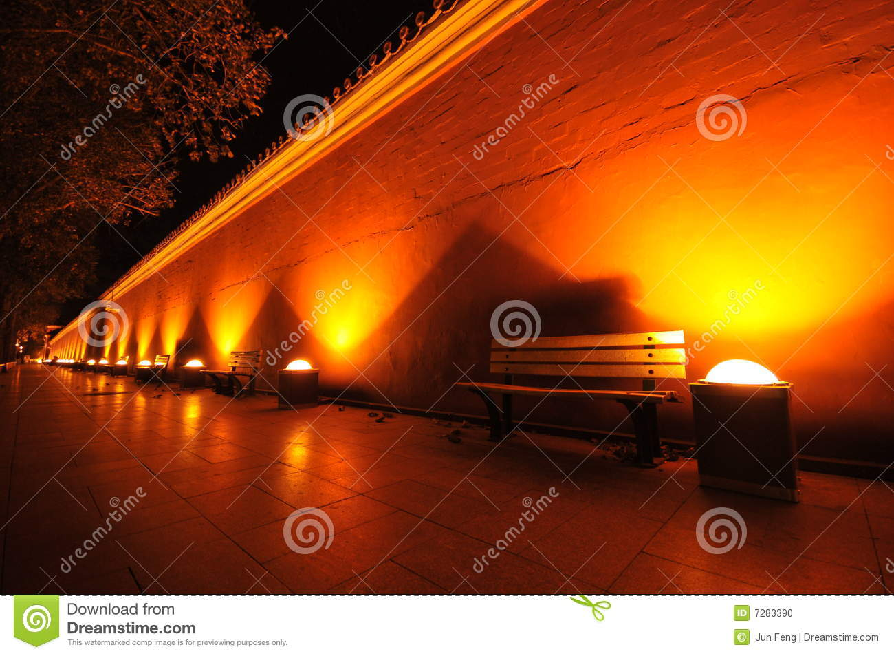 http://thumbs.dreamstime.com/z/under-dim-light-night-china-s-red-ocher-wall-7283390.jpg