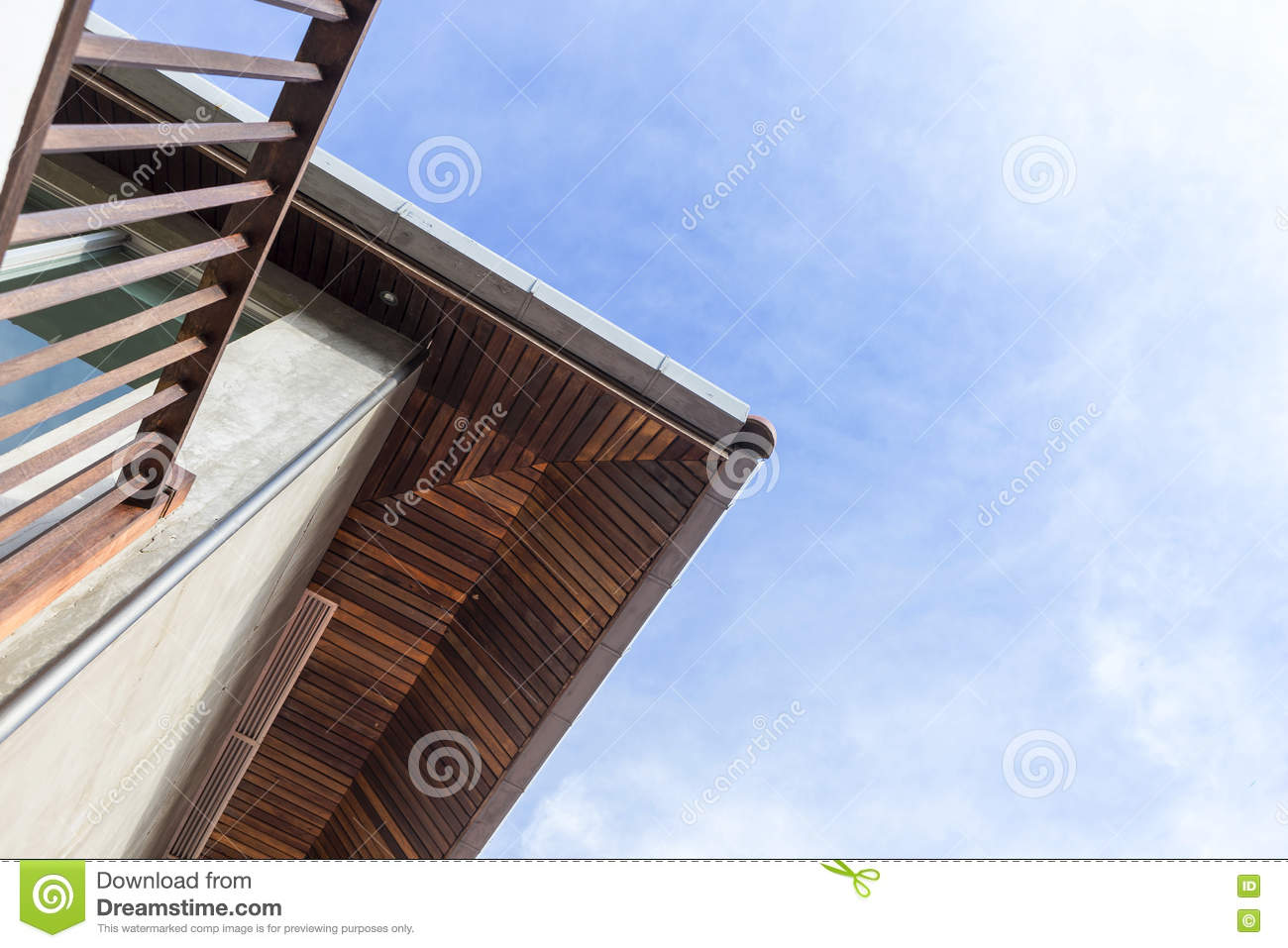 The Room In The Attic Under The Roof Royalty Free Stock