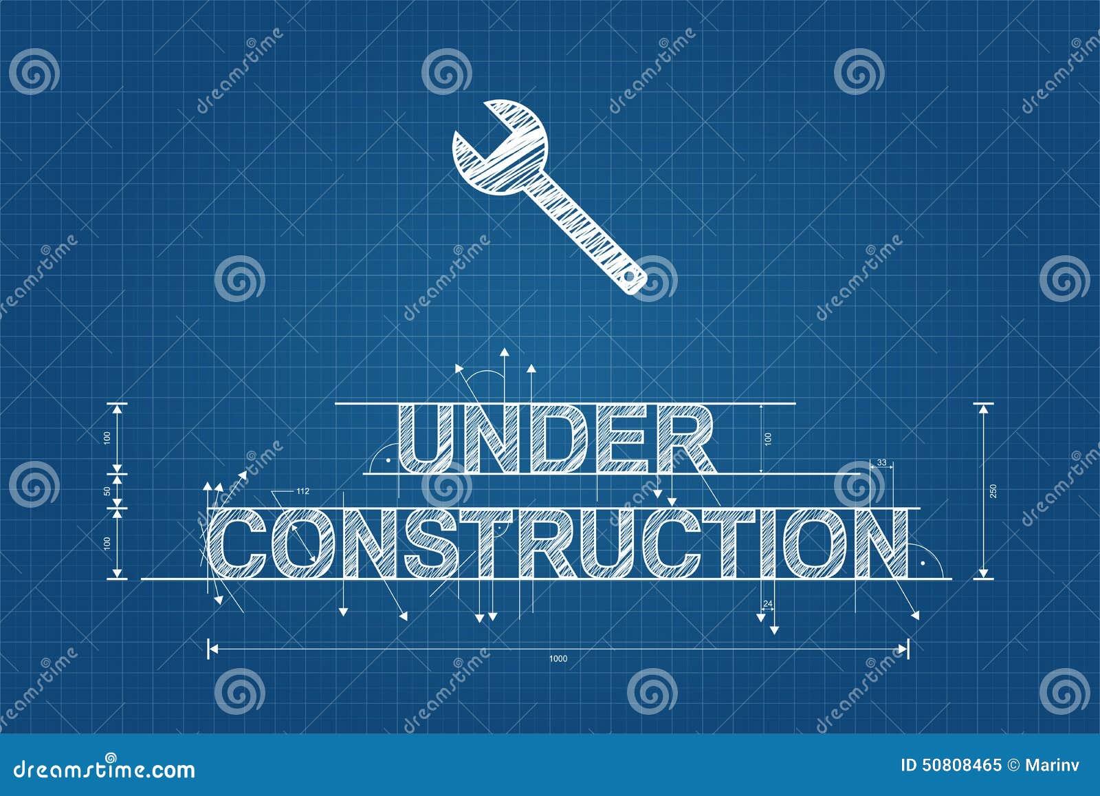 Under konstruktionsritning klottrar den tekniska teckningen, stil