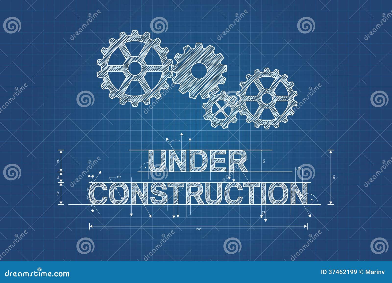 Under konstruktionsritning teknisk teckning
