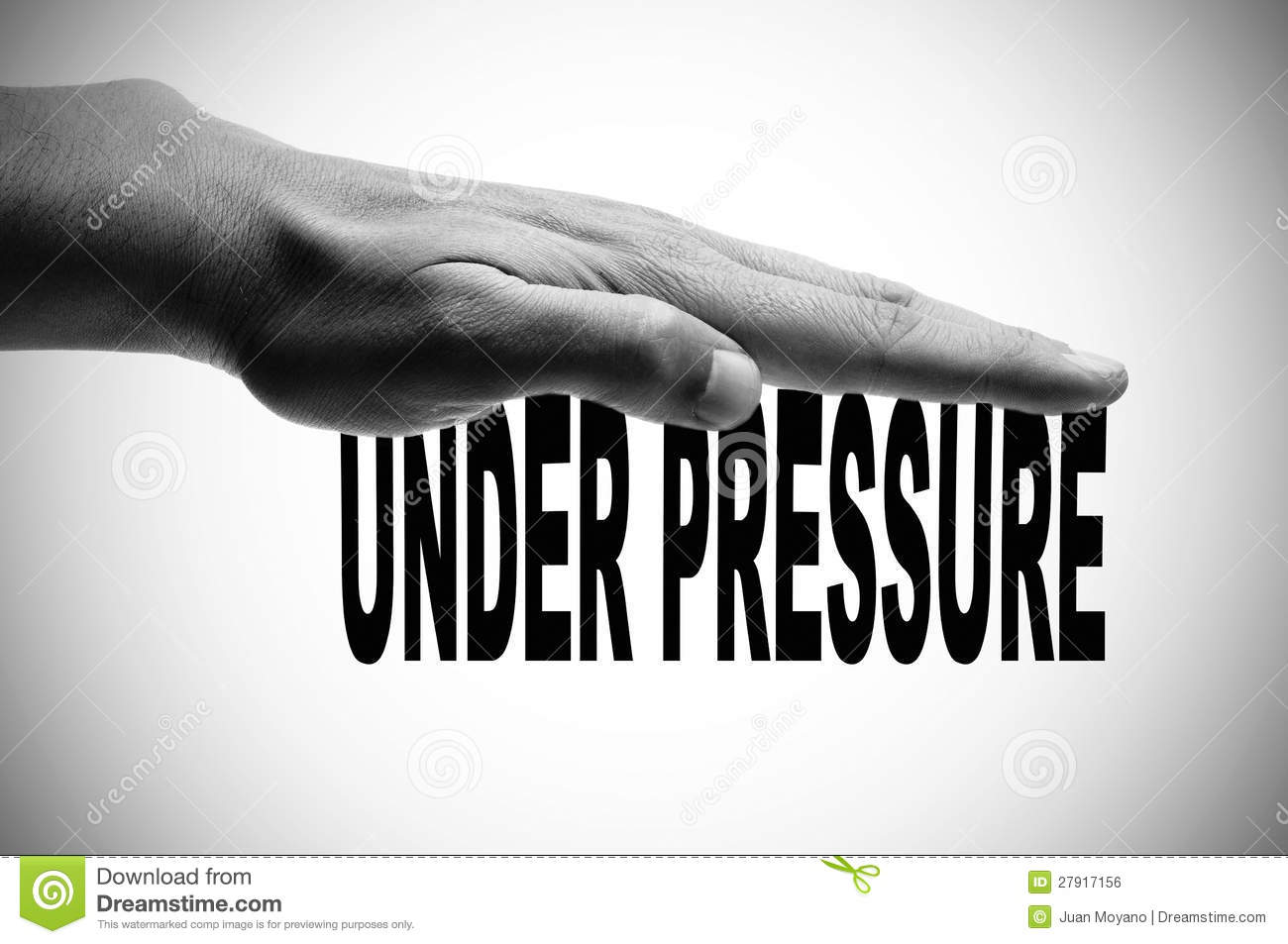 Under Pressure Royalty Free Stock Image - Image: 27917156