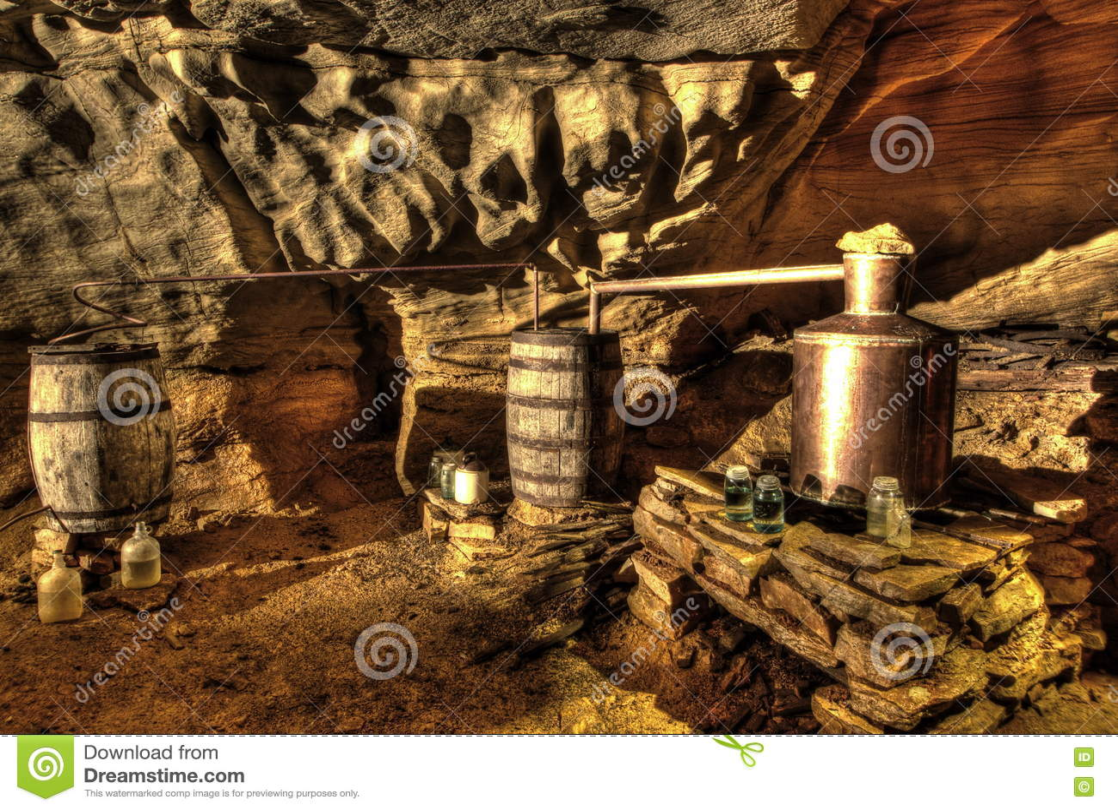 Underground Moonshine