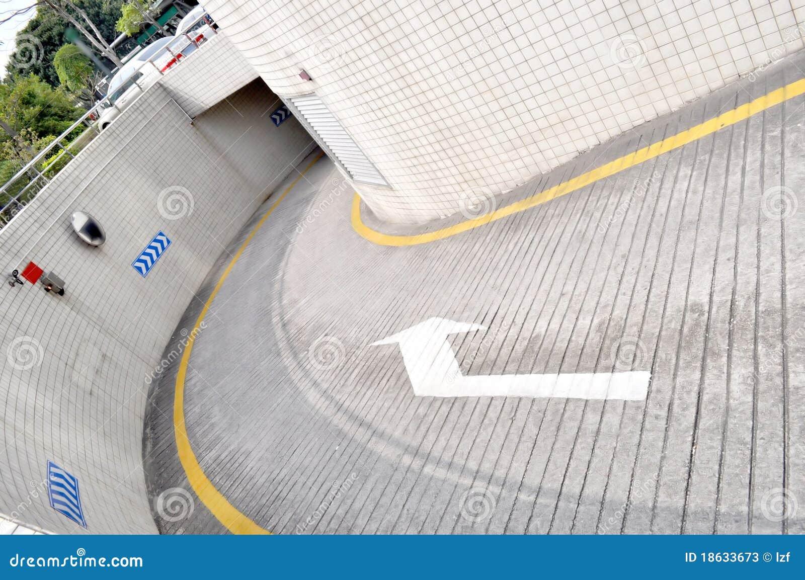 underground parking stock photos image 18633673