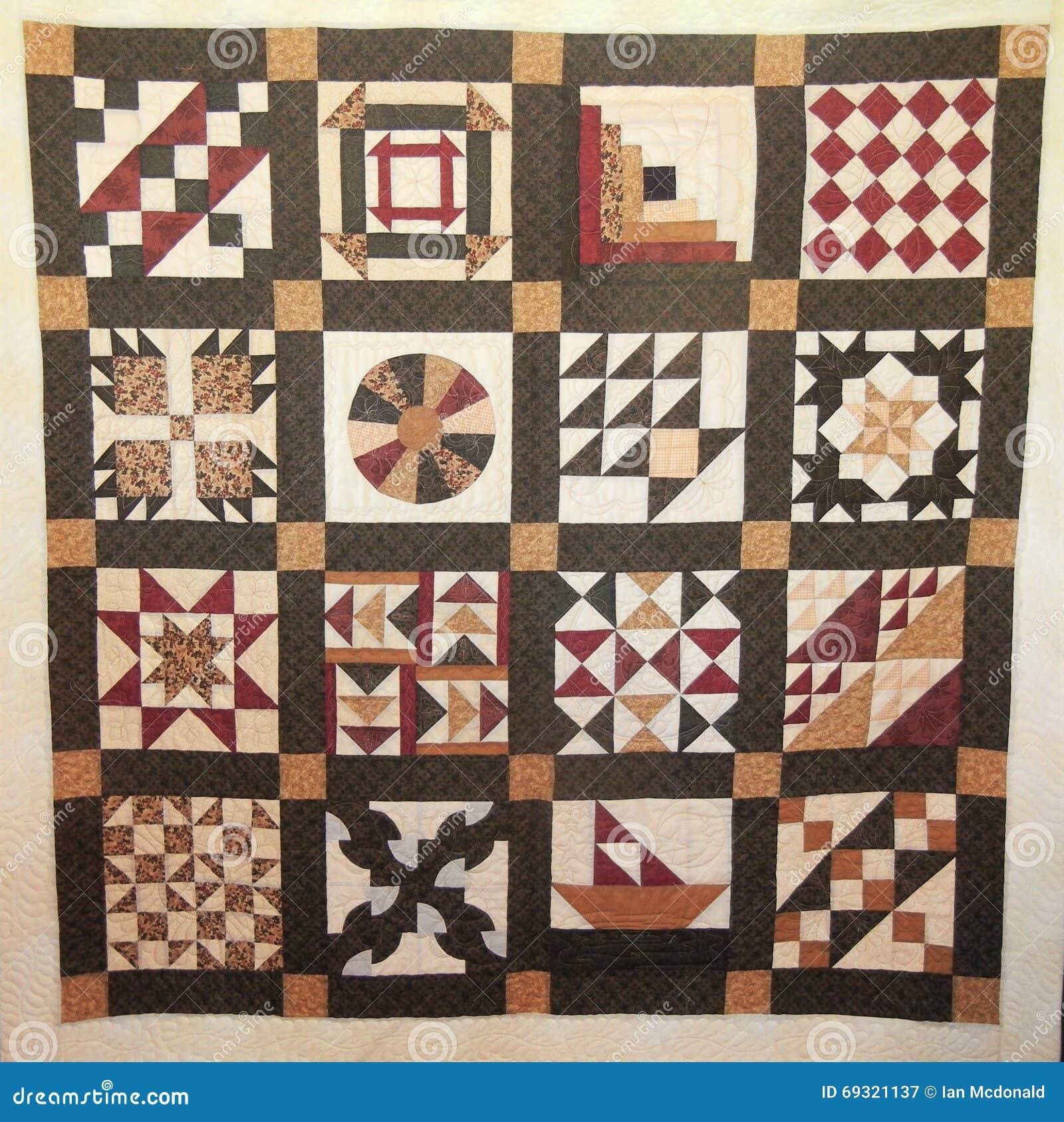 Underground Railroad Quilt Stock Image Image Of Panel 69321137