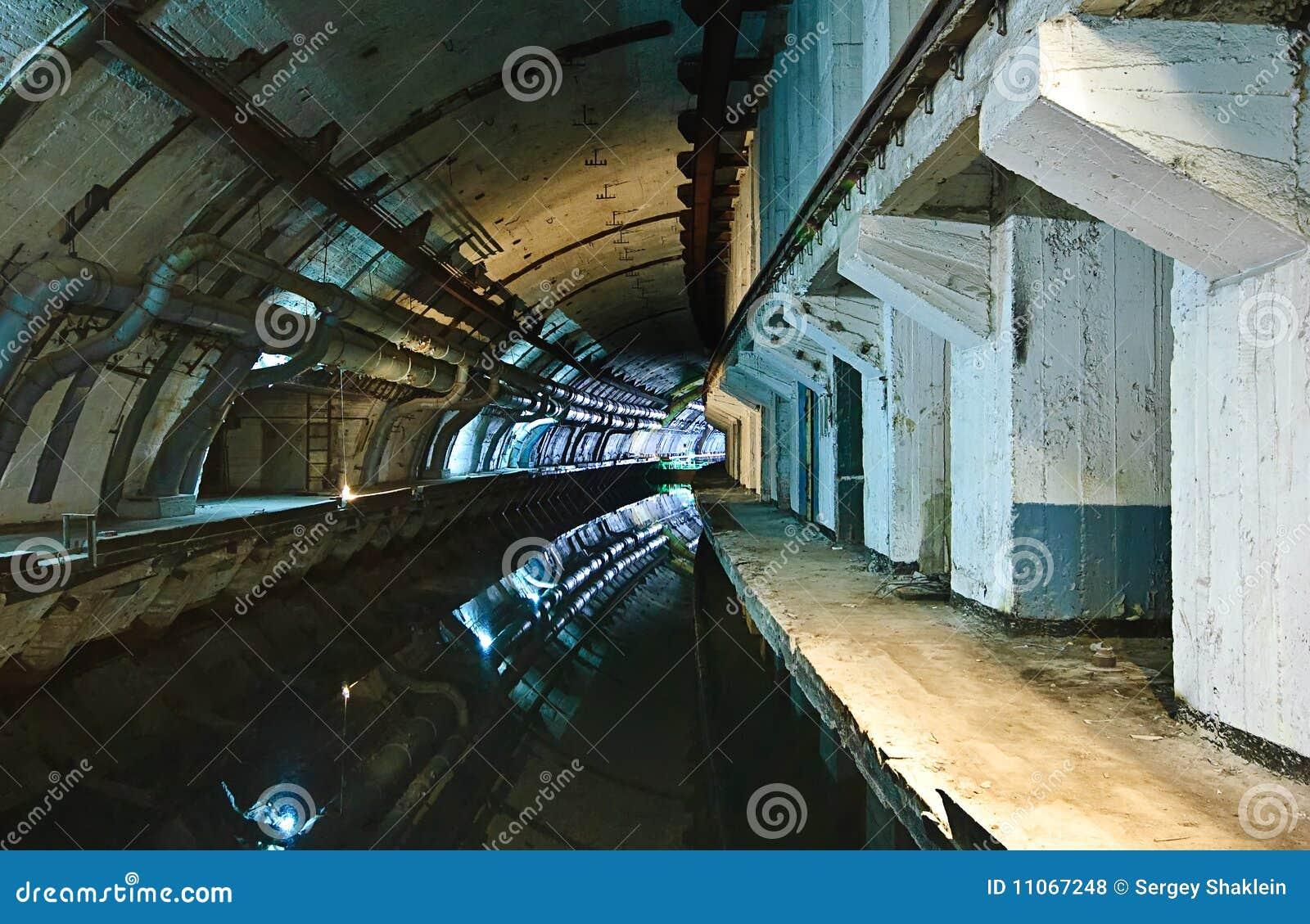 Underground Military Bases For Sale Soviet Underground Submarine Base Stock Photography Image 11067282