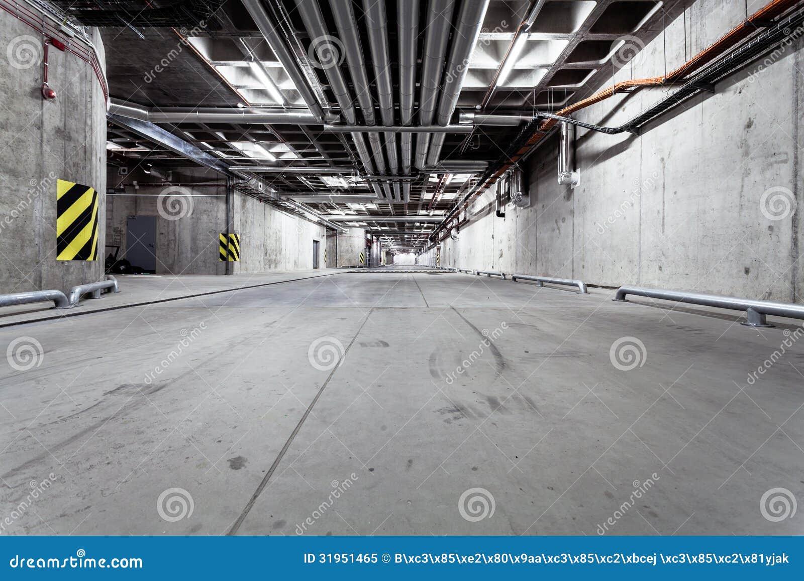 Underground Tunnel Road Construction Stock Image Image
