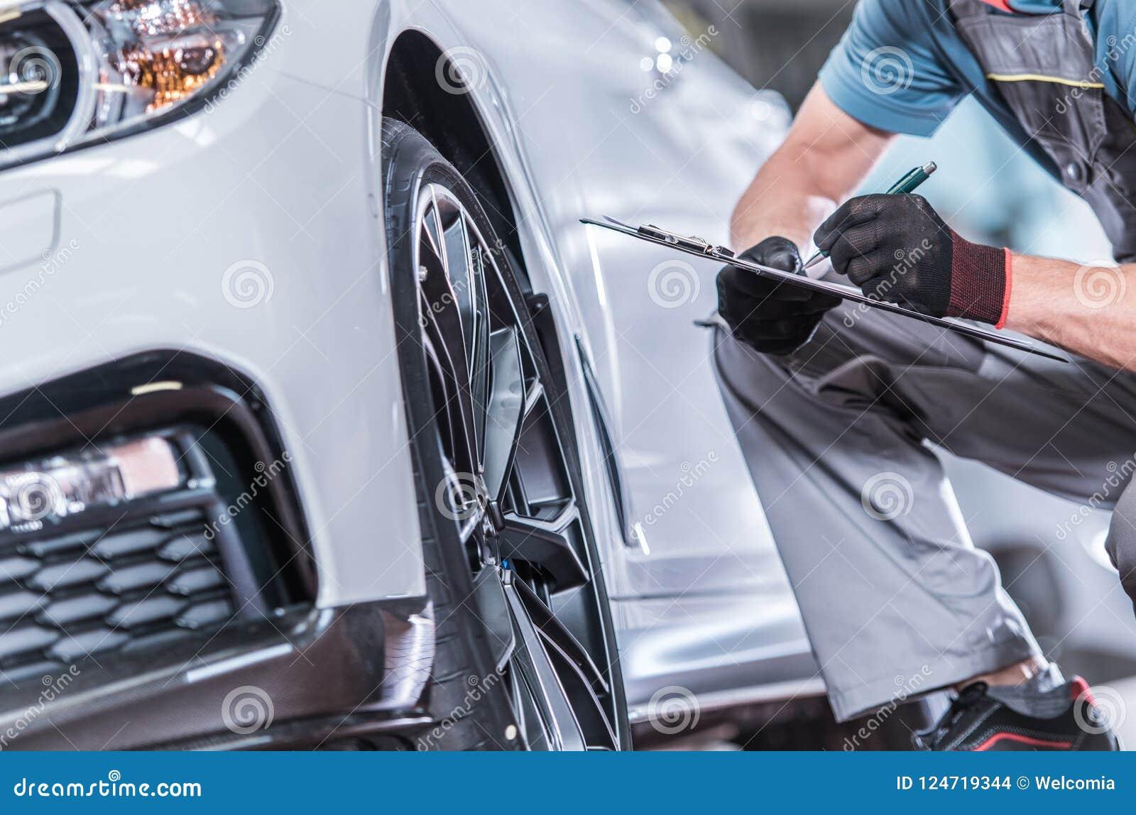 Underhåll för använd bil