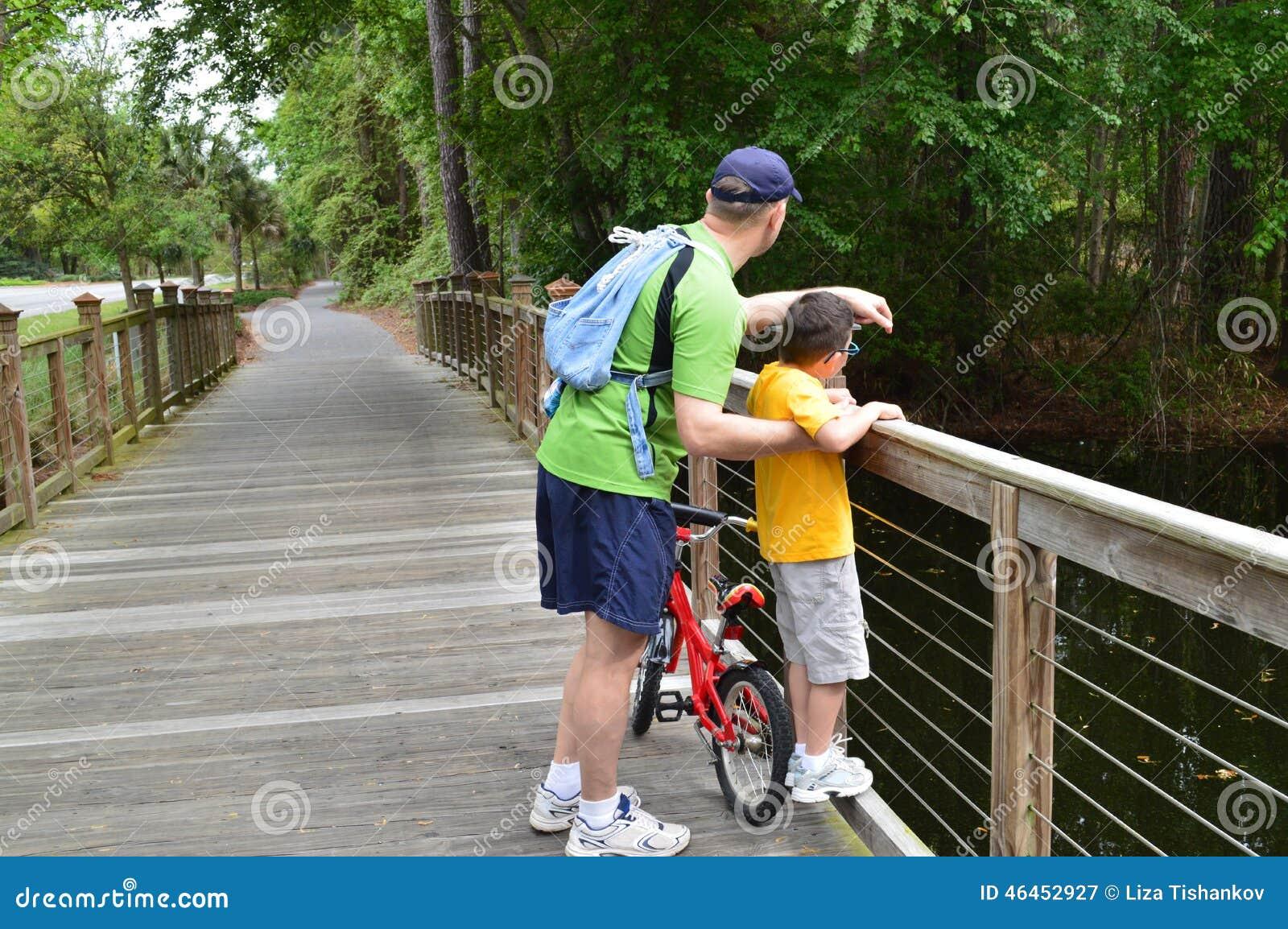 Undersökande natur för fader och för son