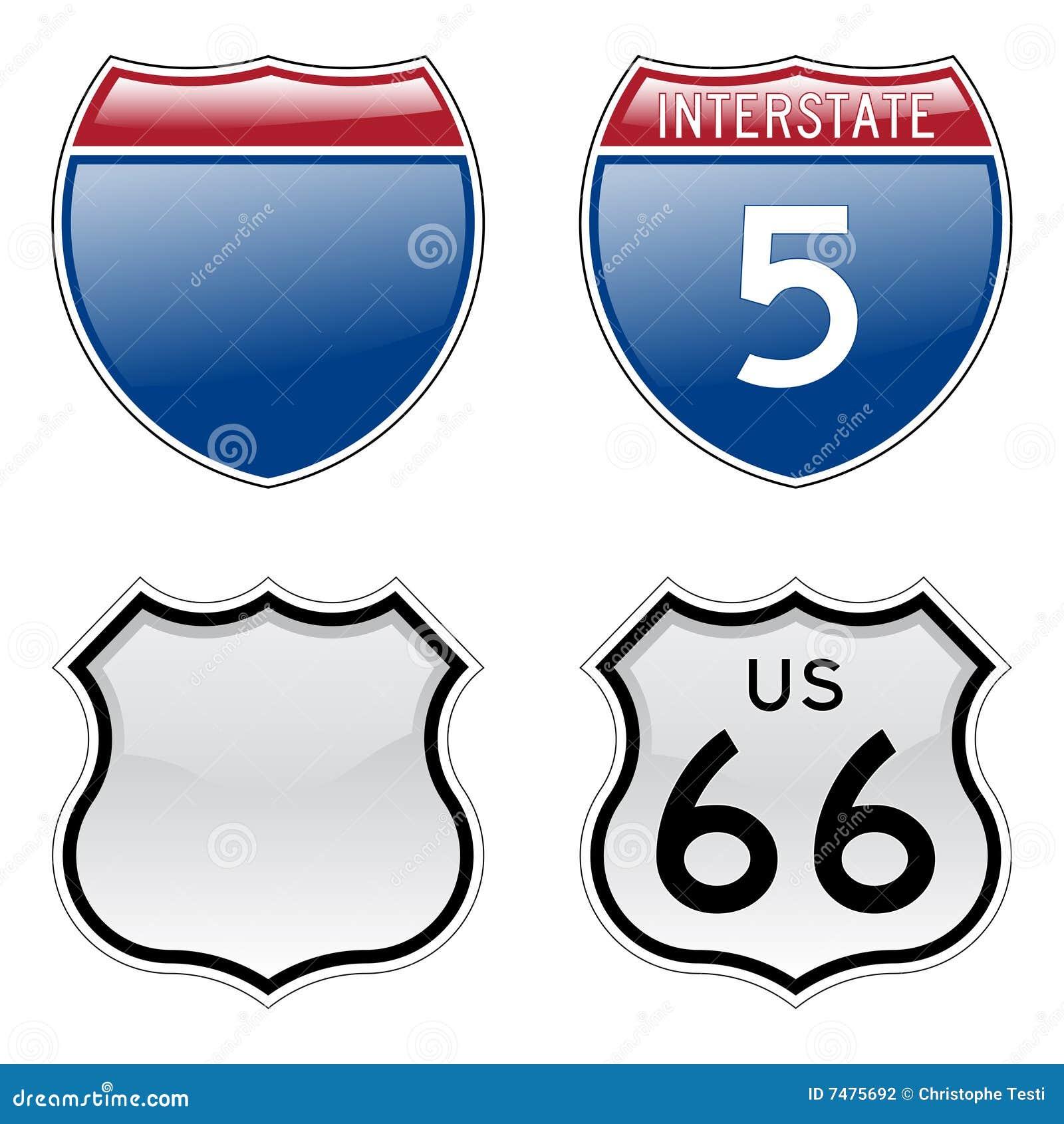 Undertecknar interstate route 66 oss