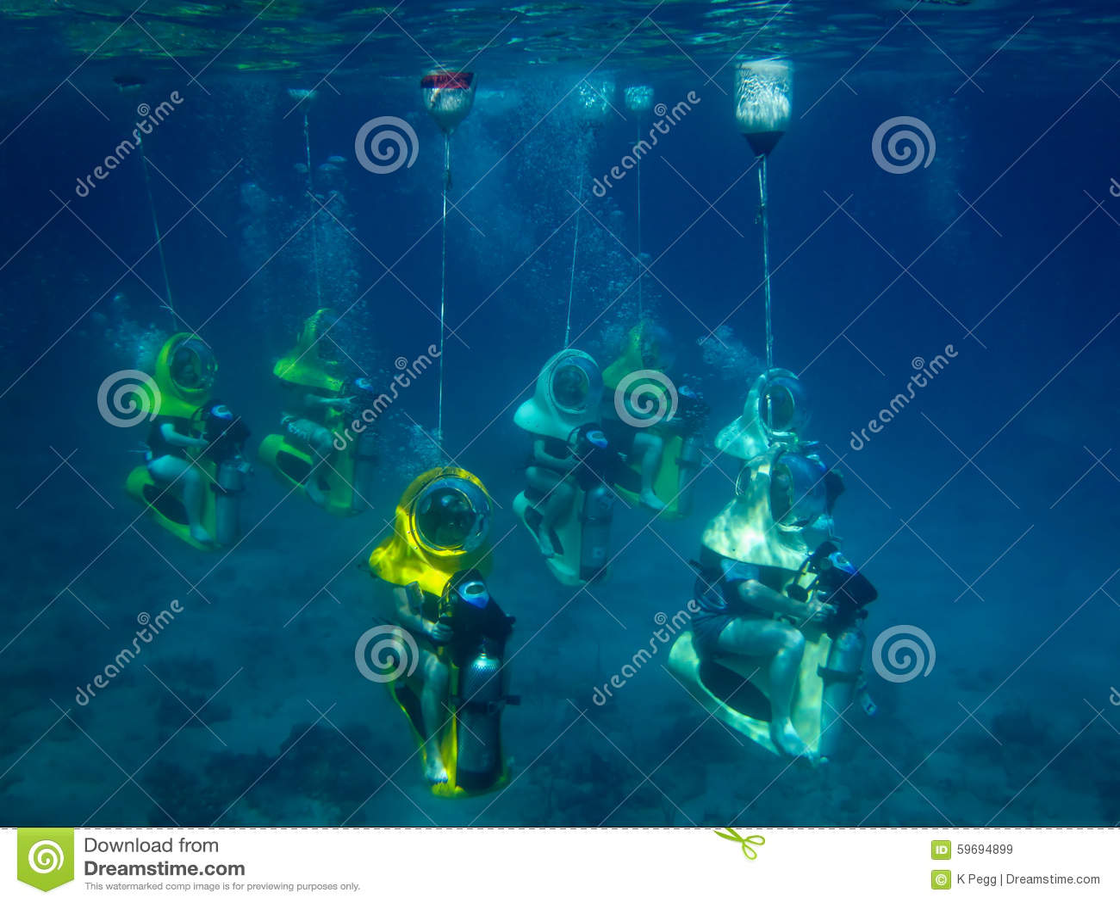 Undervattens- dyk