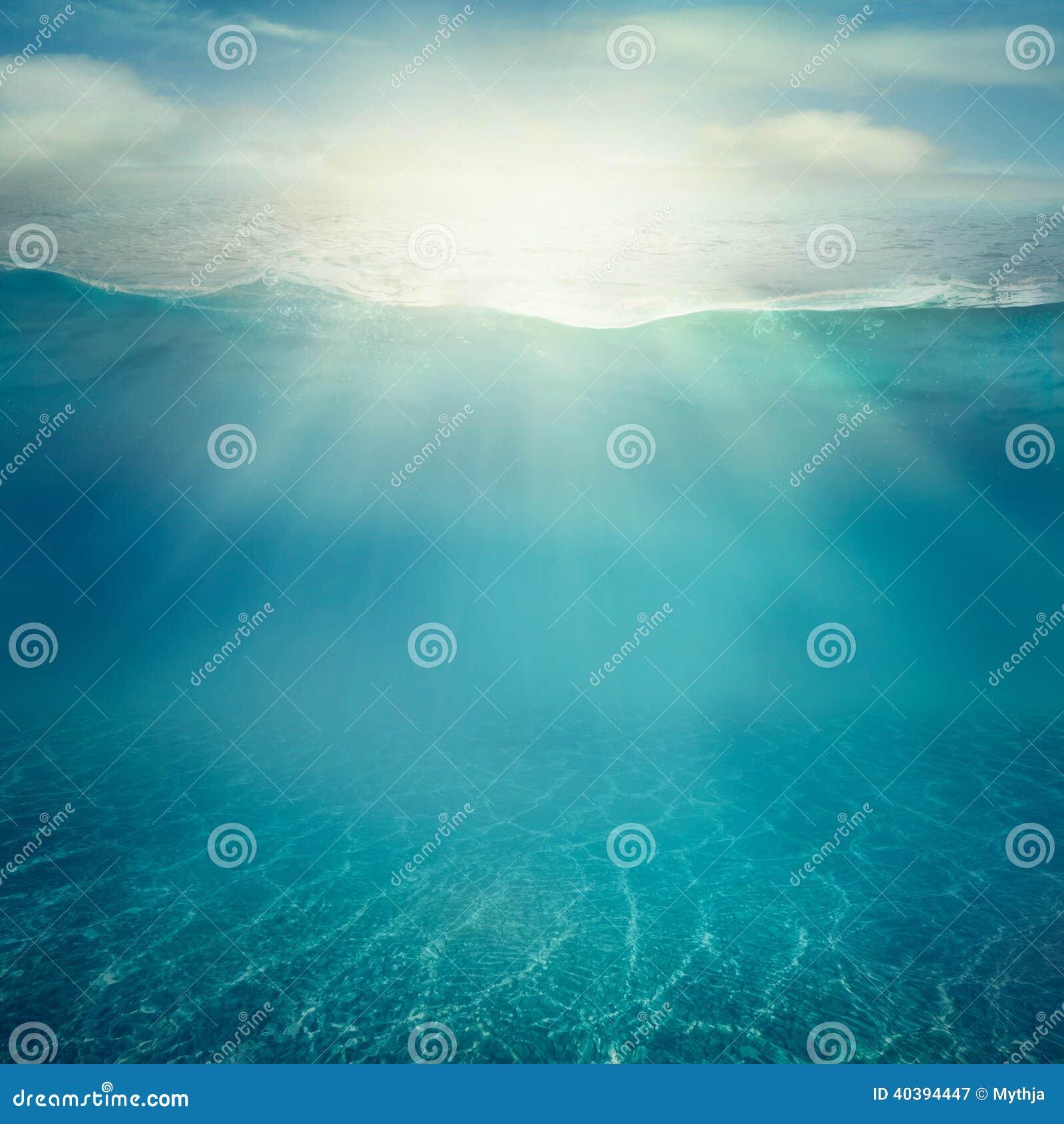 Underwater Background Stock Photo Image 40394447