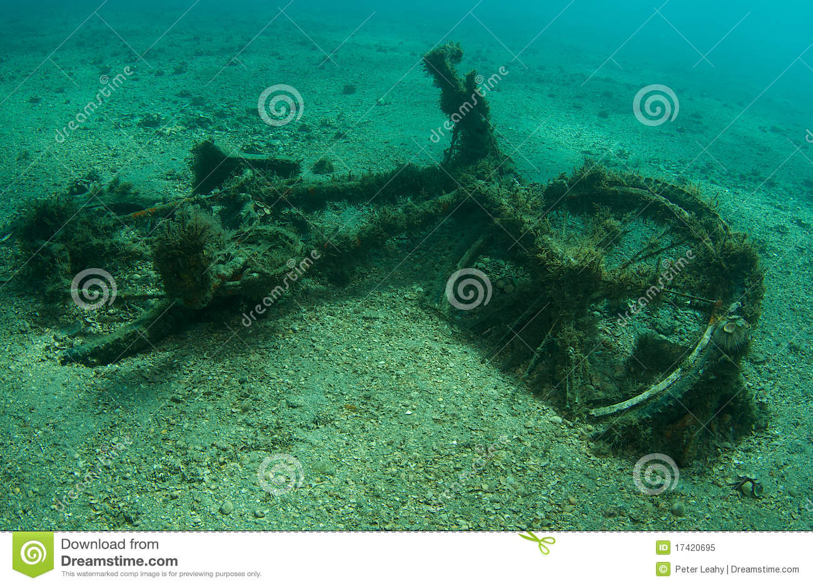 Underwater bicycle
