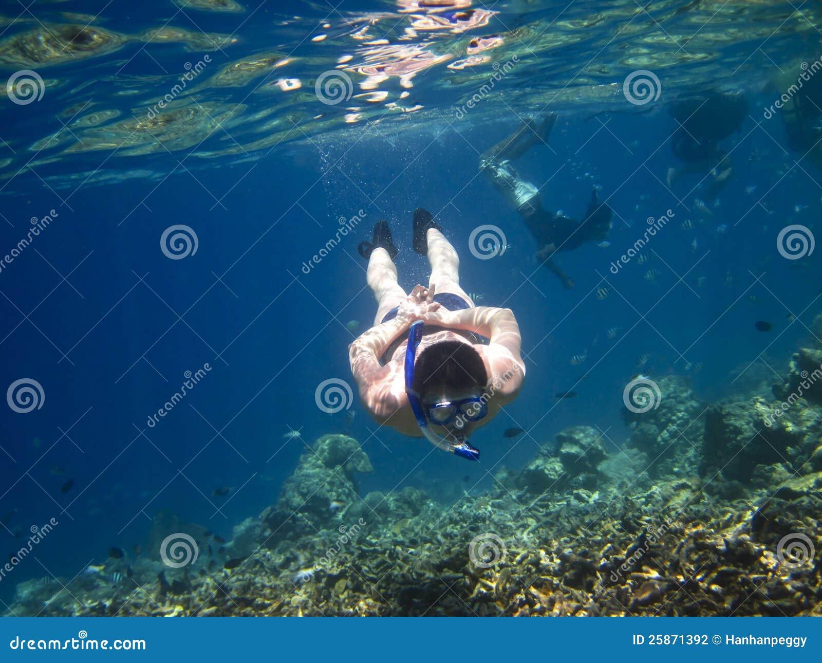 Underwater d esplorazione