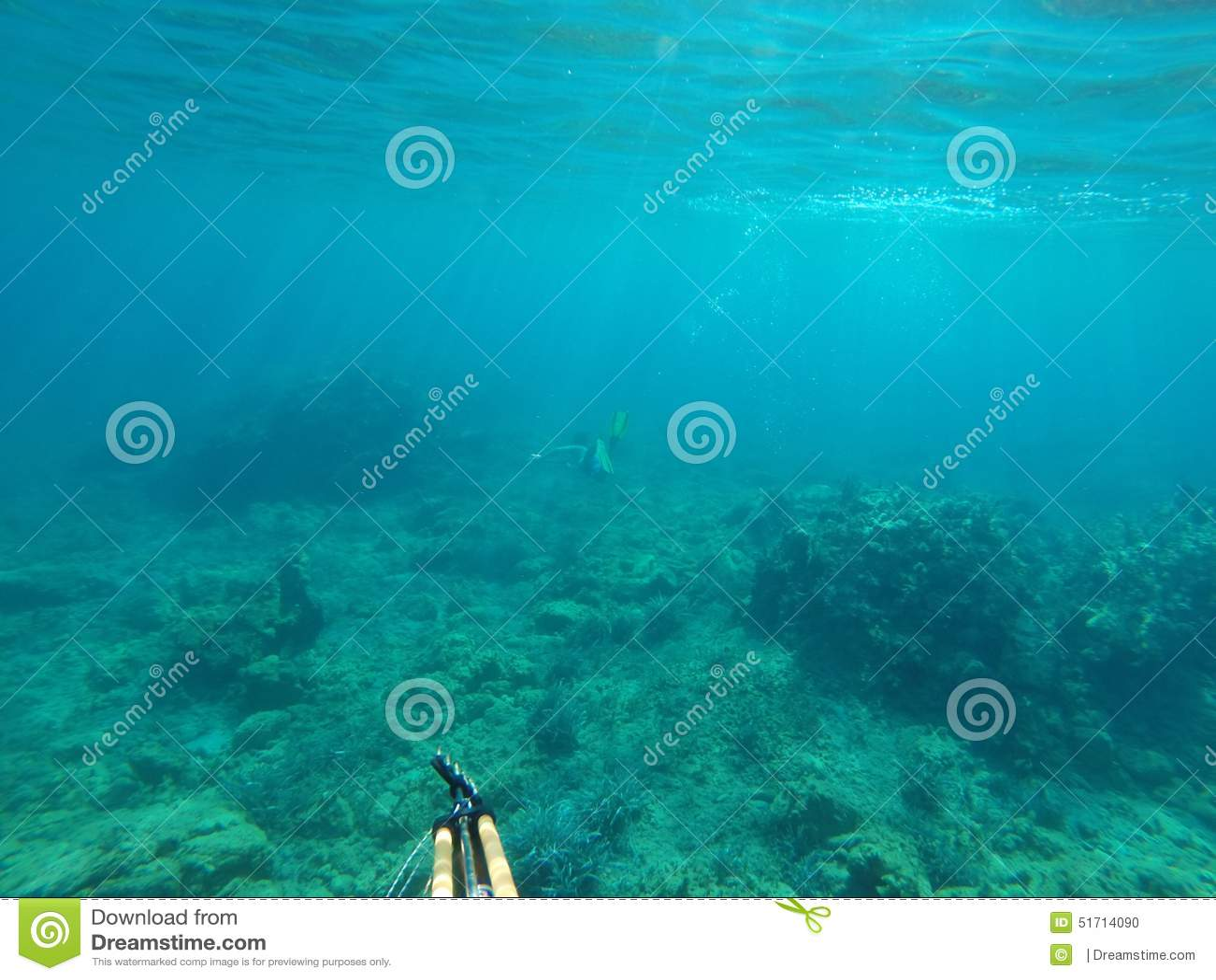 underwater fishing stock photo - image: 51714090, Reel Combo